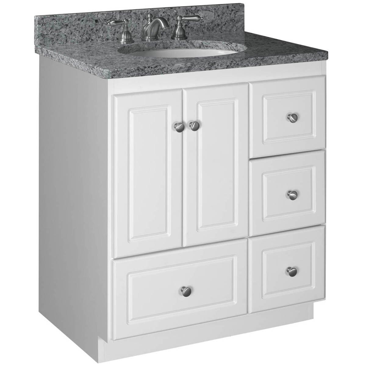 Bathroom White Vanities Bathroom Vanities Without Tops Youll Love