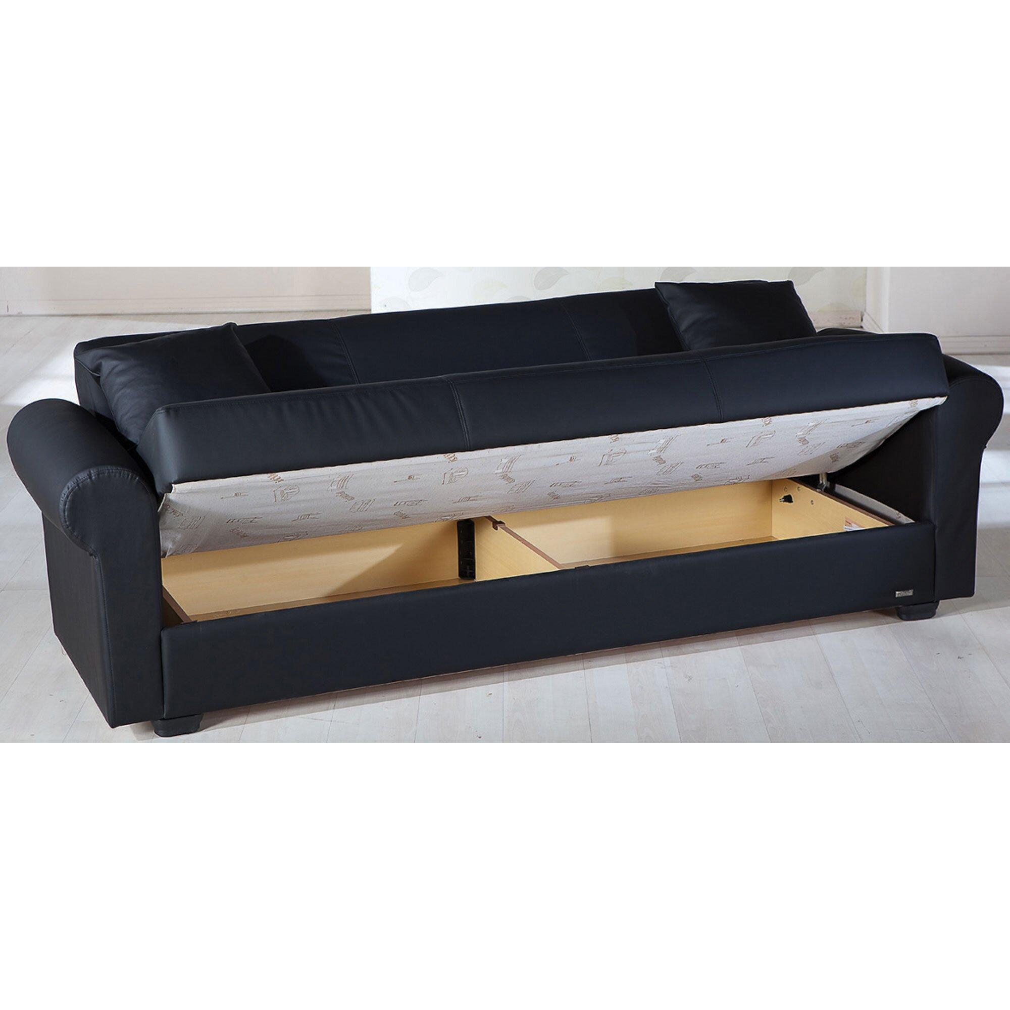 Istikbal Floris 3 Seat Sleeper Sofa u0026 Reviews : Wayfair