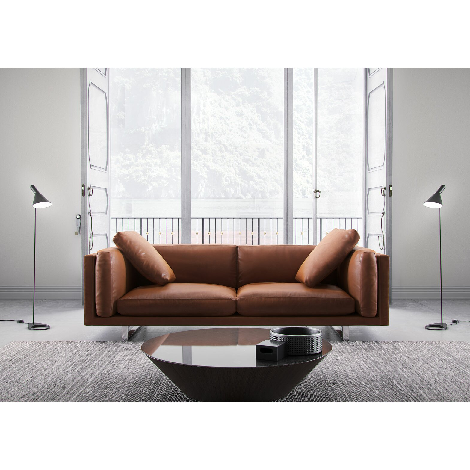 italian top grain leather sofa wayfair mayfair leather sofa