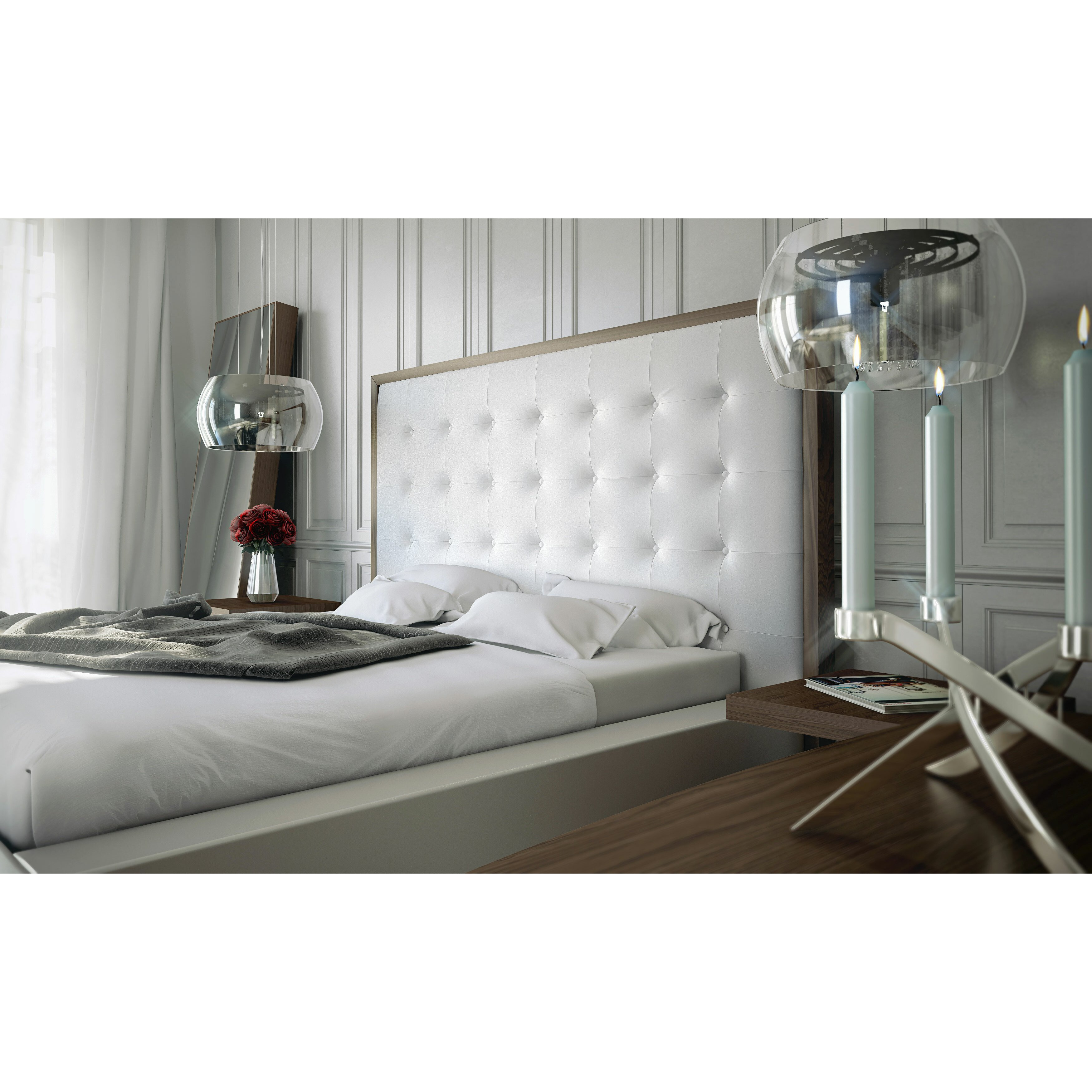 Platform Bed Bedroom Set Ludlow Platform Customizable Bedroom Set Reviews Allmodern