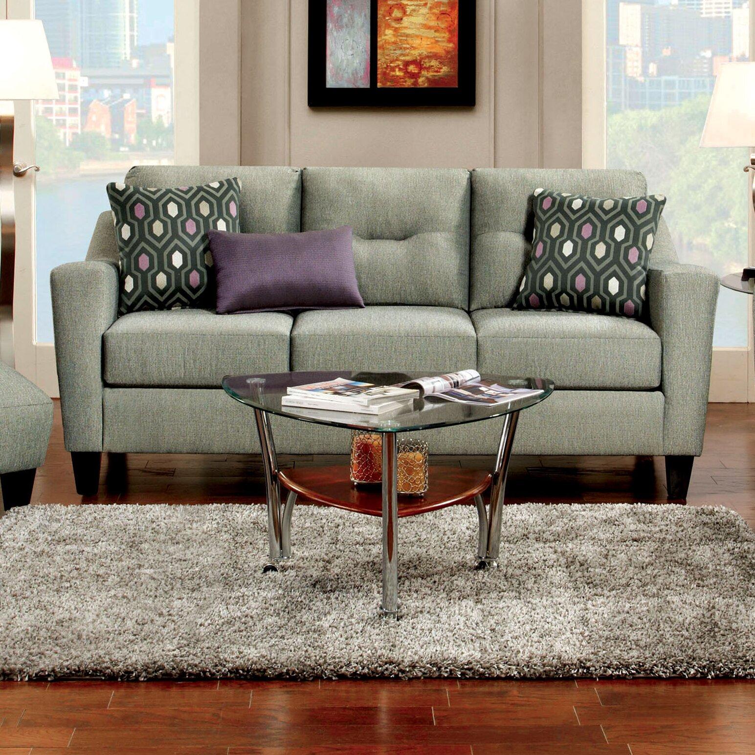 Hokku Designs Hokku Designs Violette Modern Sofa Reviews Wayfair