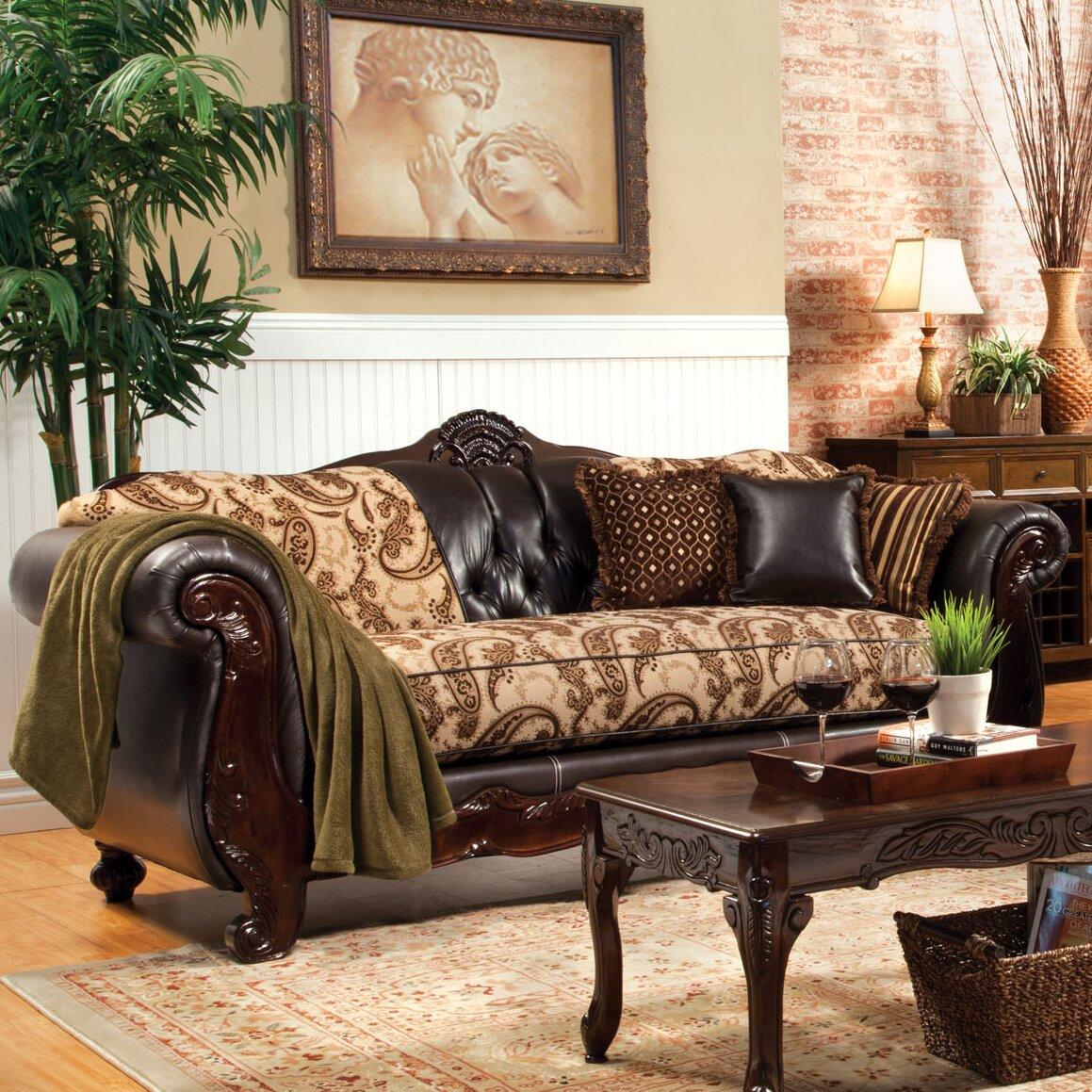 Two Loveseat Living Room Hokku Designs Maximillia Two Tone Classic Loveseat Reviews Wayfair