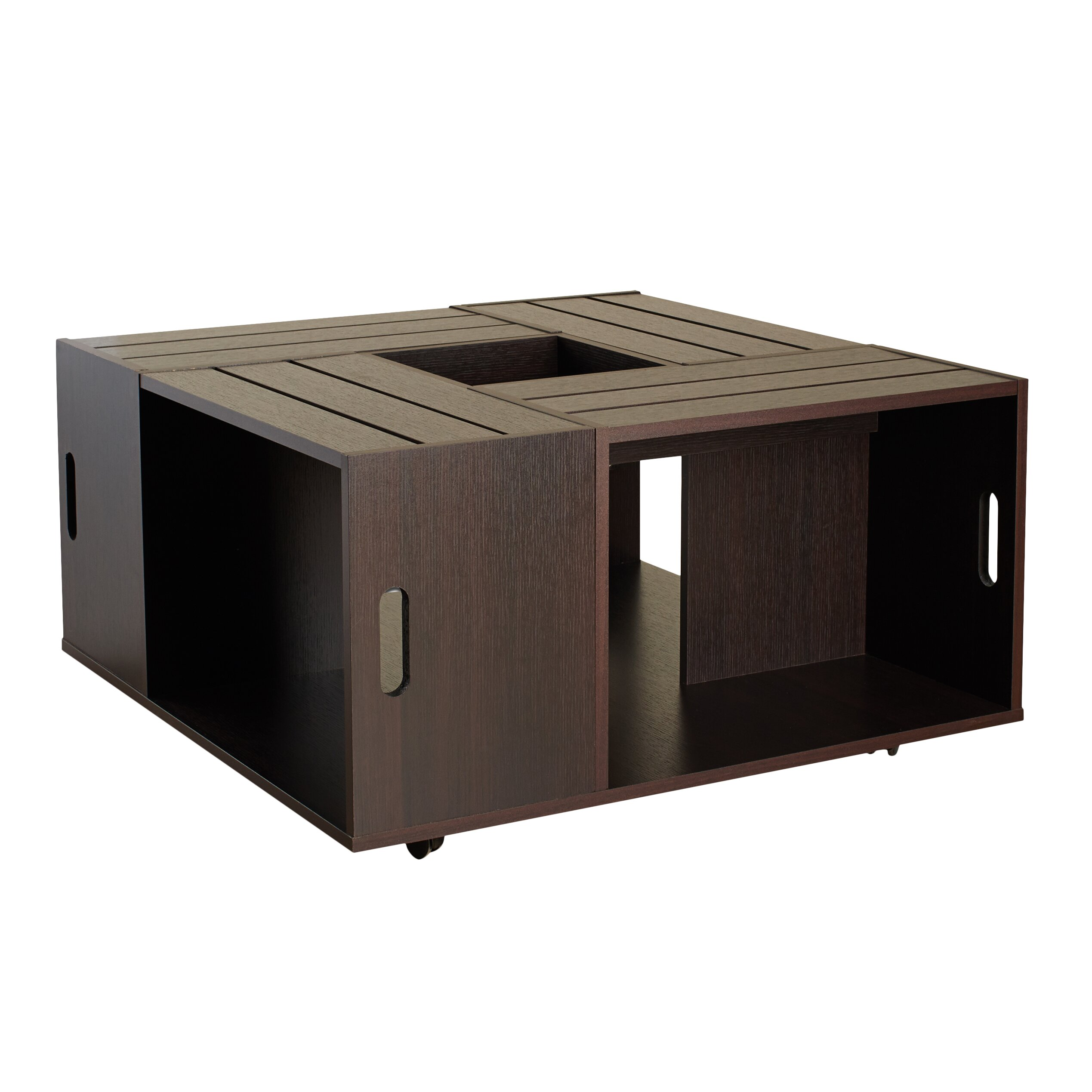Square Coffee Table By Latitude Run: Hokku Designs Corsica Coffee Table & Reviews