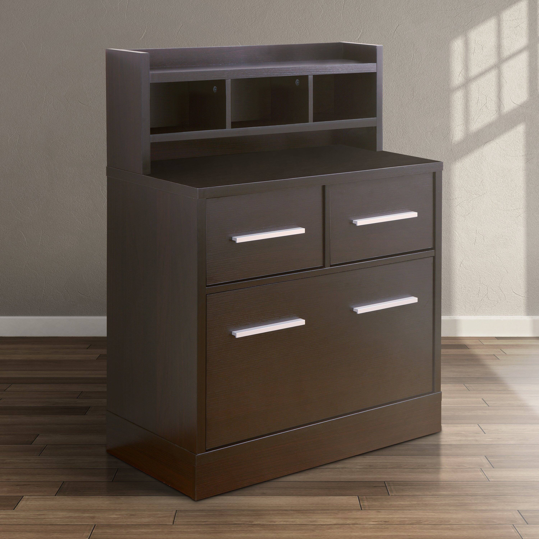 File Cabinet Hokku Designs 3 Drawer File Cabinet Workstation Reviews Wayfair