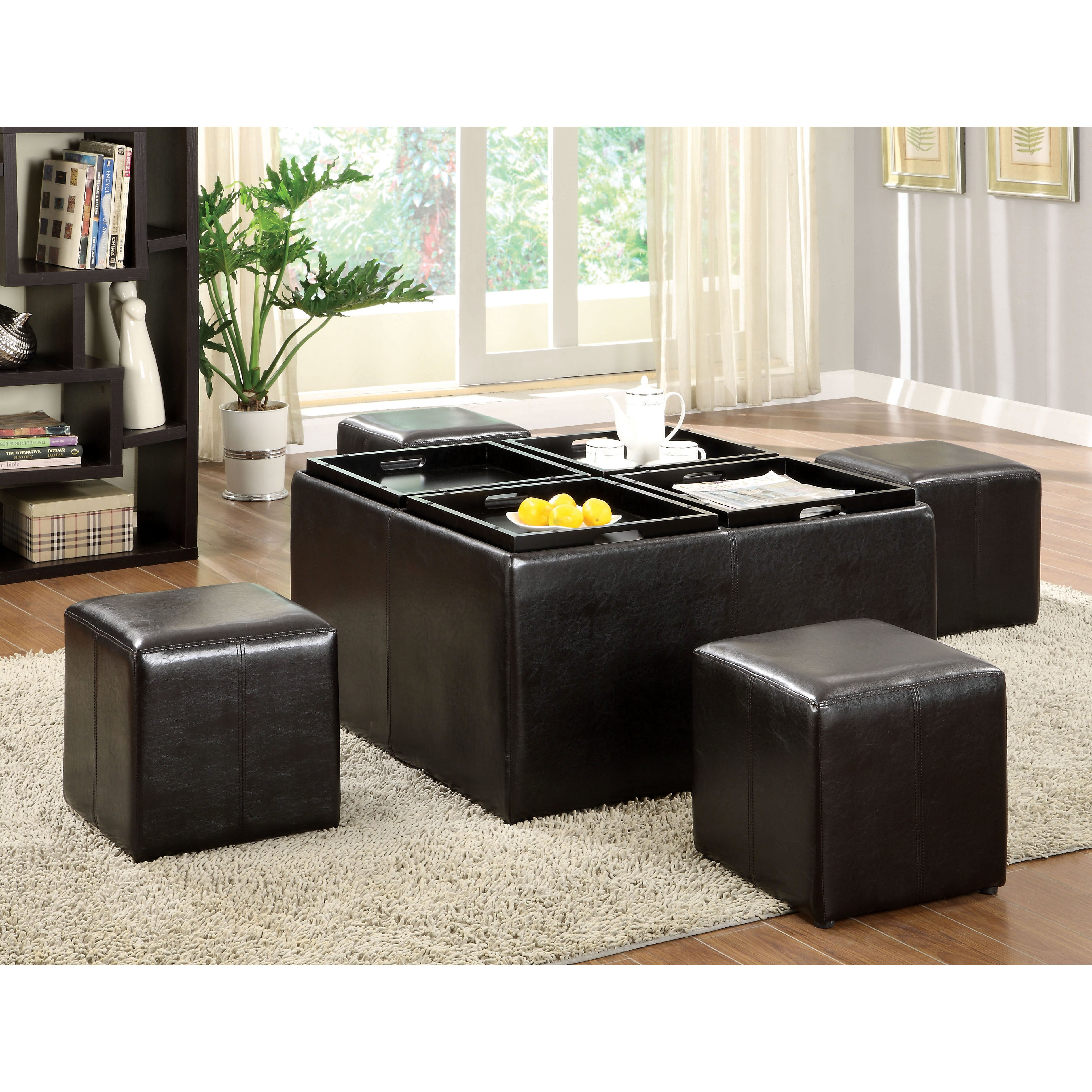 Coffee Table With Ottomans Coffee Tables