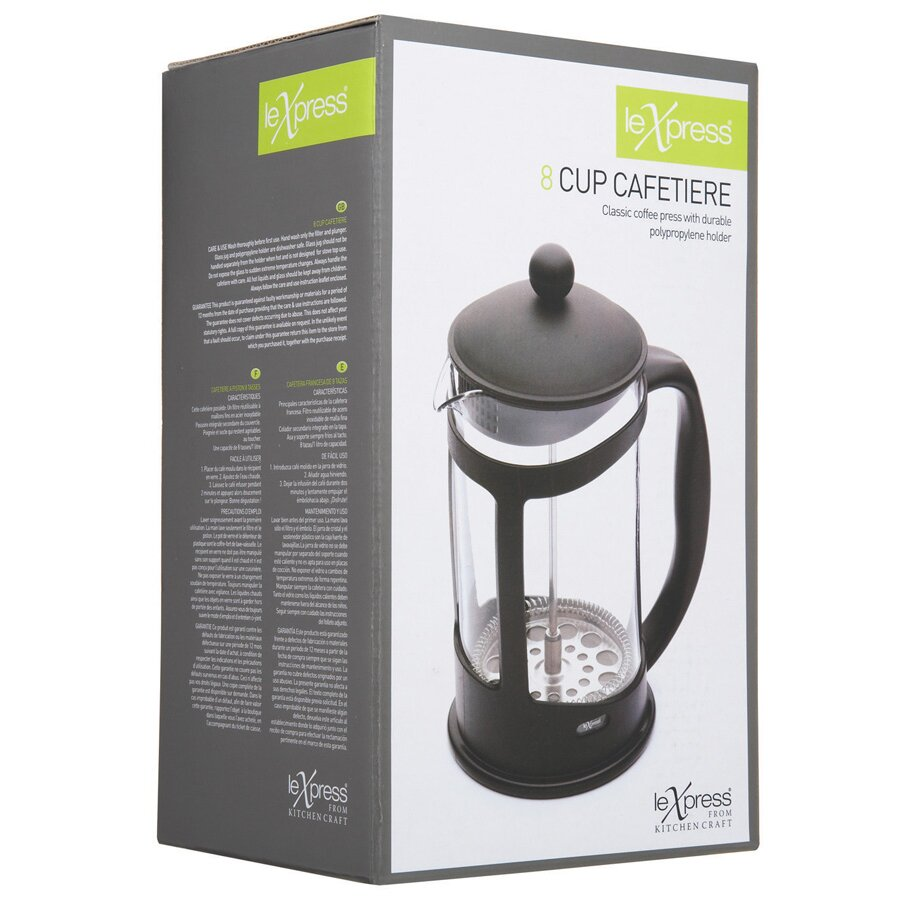 How To Use Le Xpress Coffee Maker : Kitchen Craft Le Xpress Coffee Maker Wayfair.co.uk