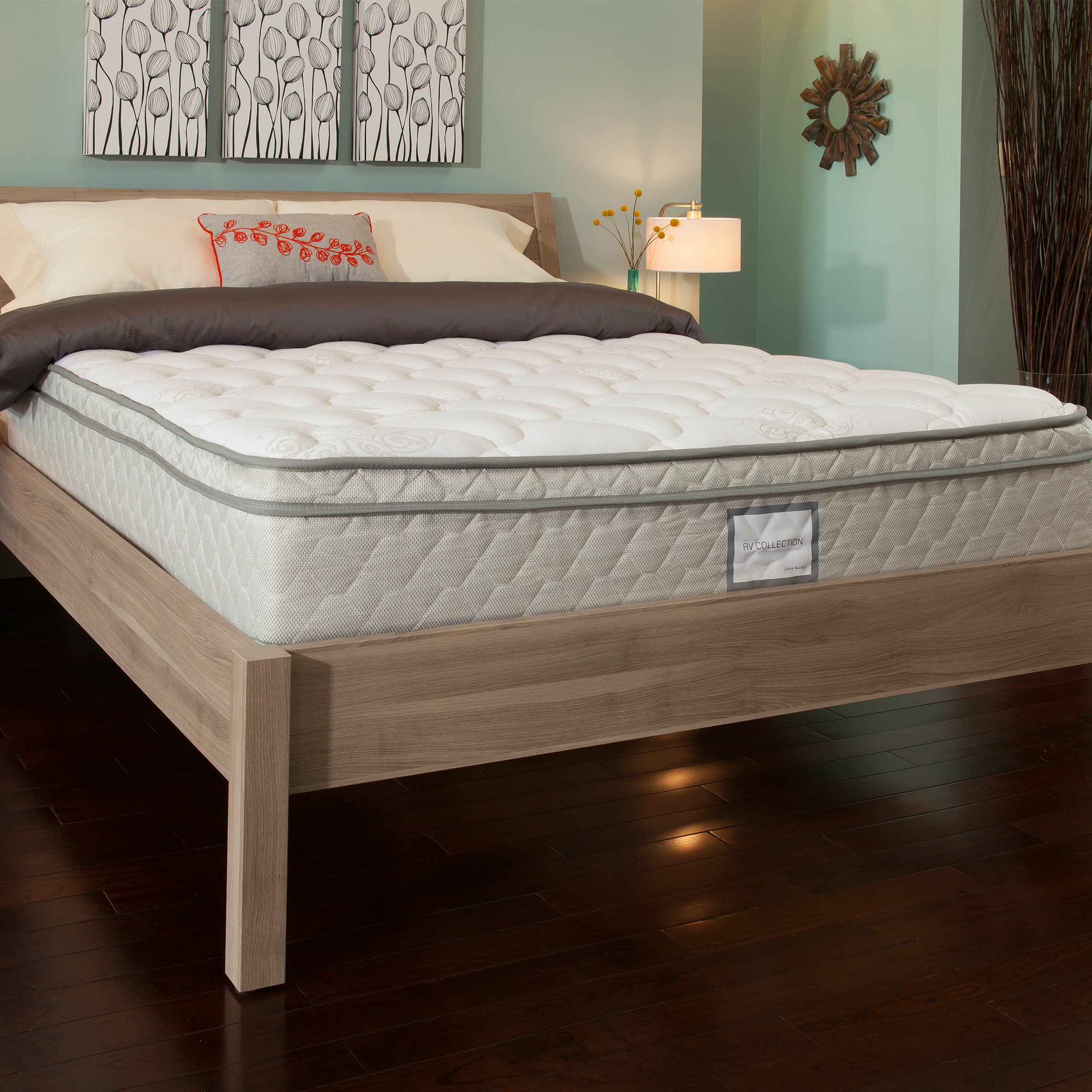 "Denver Mattress Supreme Euro Top 11"" Ultra plush High"