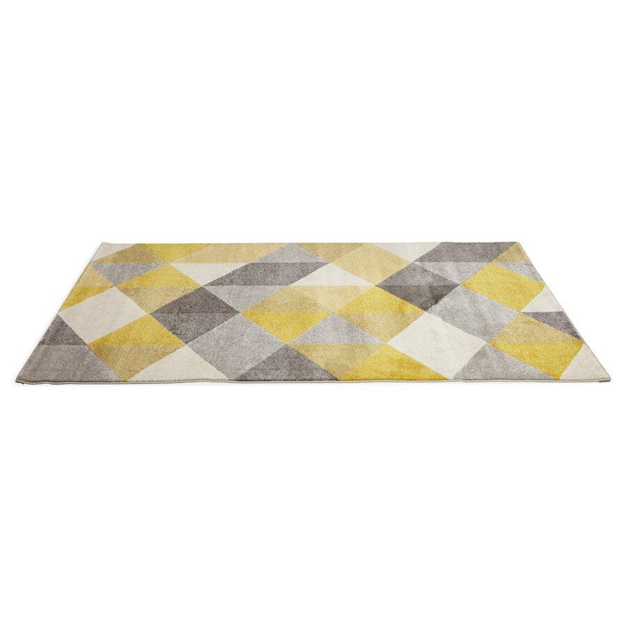 kokoon teppich mouto in gelb
