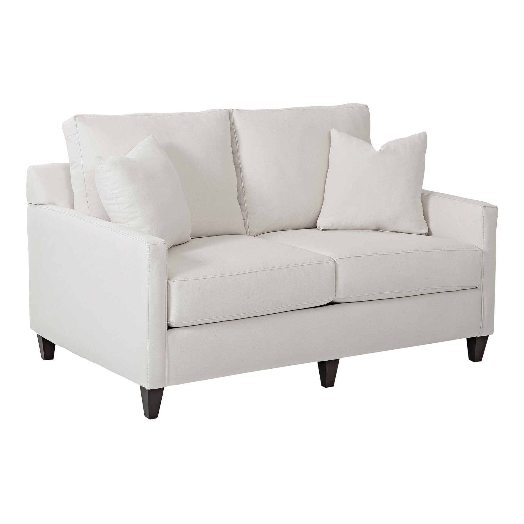 Wayfair Custom Upholstery Spencer Loveseat Amp Reviews Wayfair