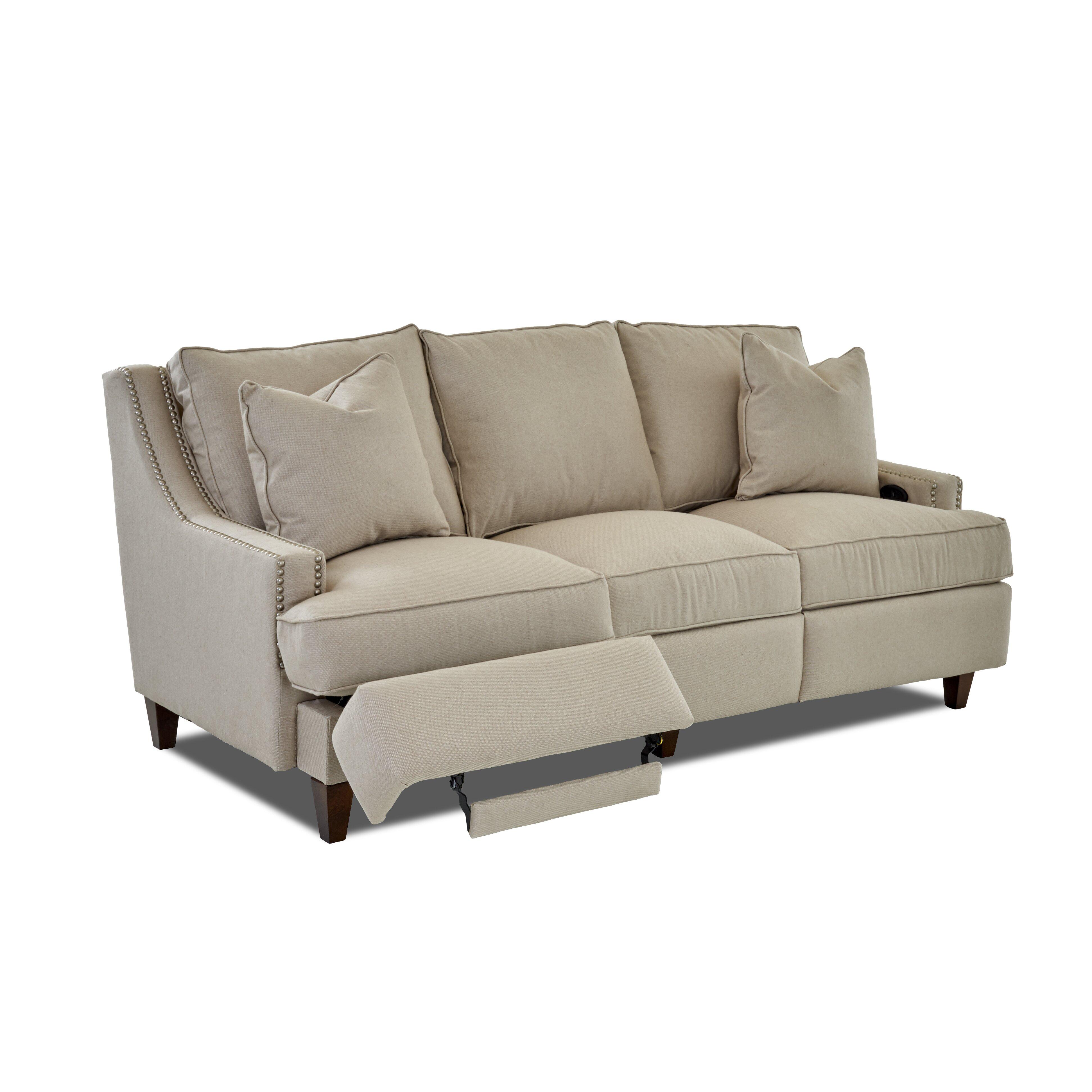 Wayfair custom upholstery tricia power hybrid reclining for Wayfair sectional sofa