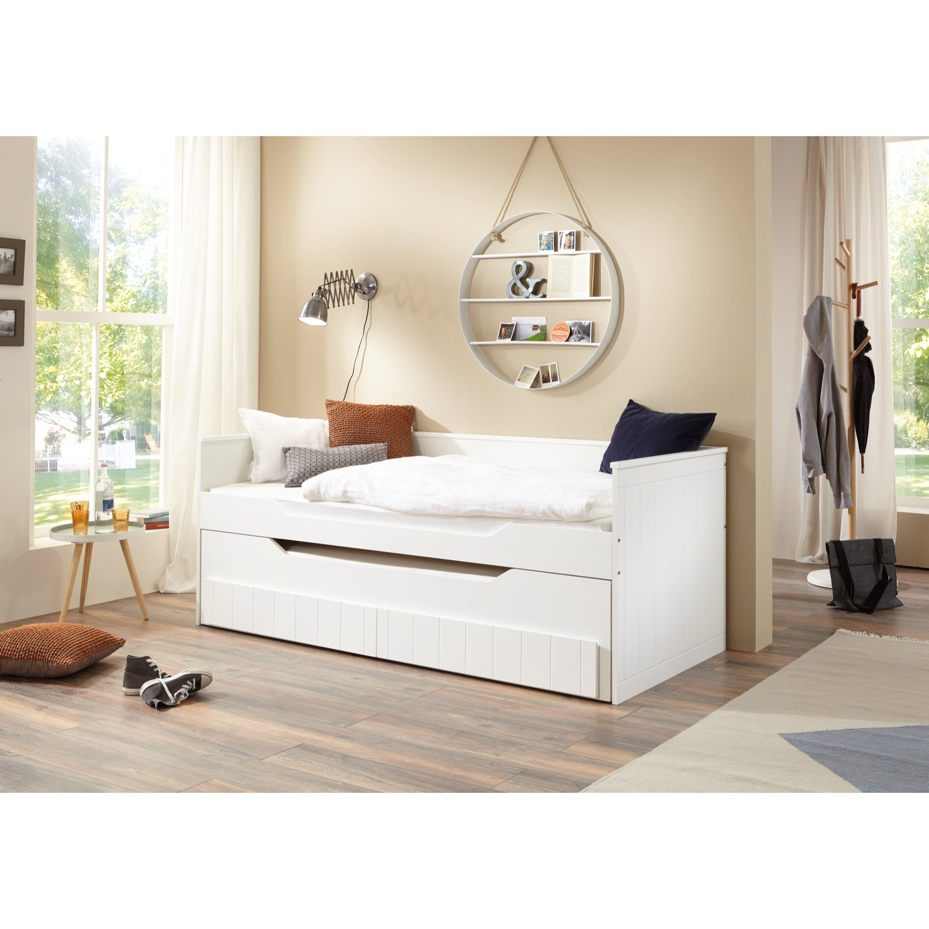 relita standard bett ronny mit g stebett 90 x 200 cm bewertungen. Black Bedroom Furniture Sets. Home Design Ideas