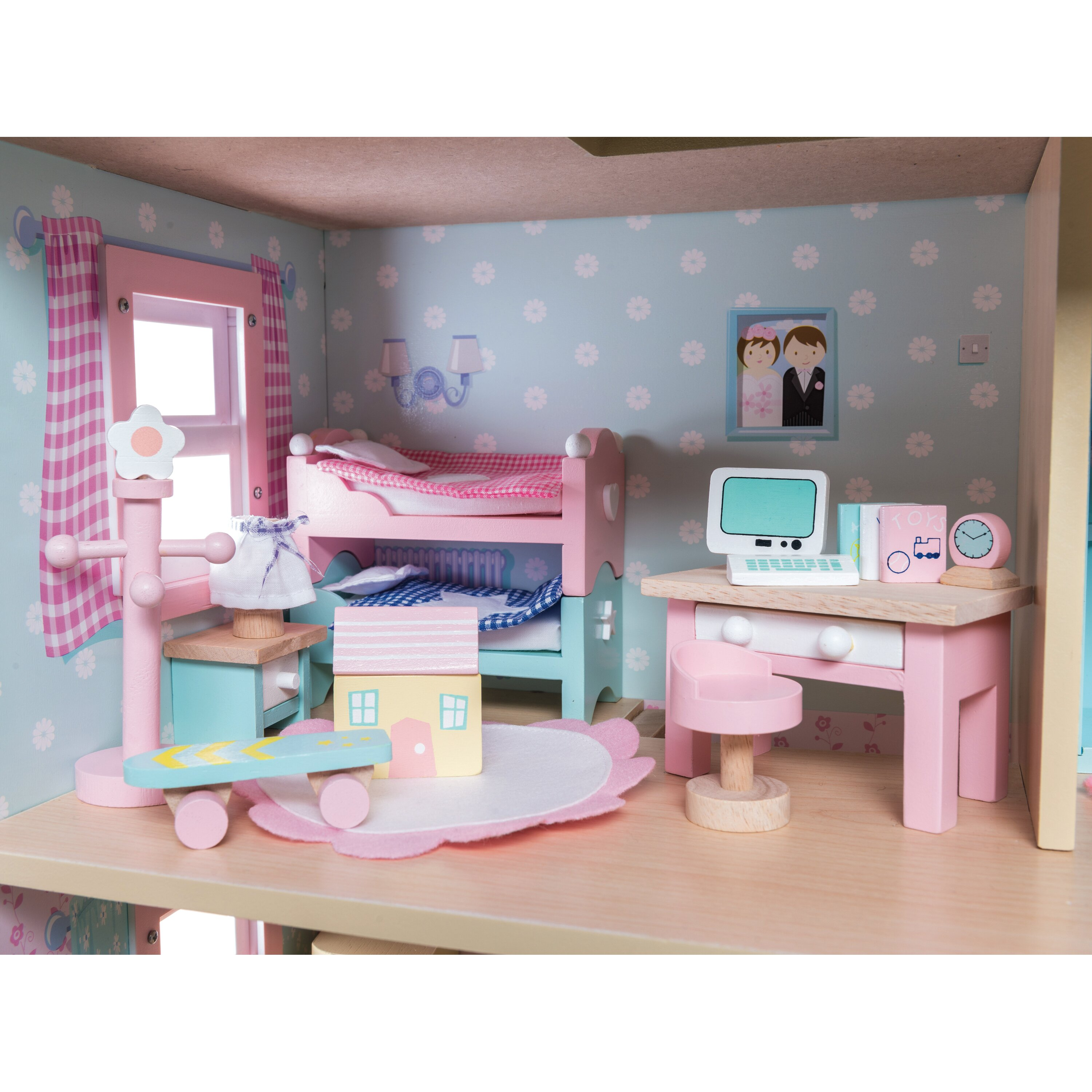 Le Toy Van Daisylane Dollhouse Children's Bedroom Set
