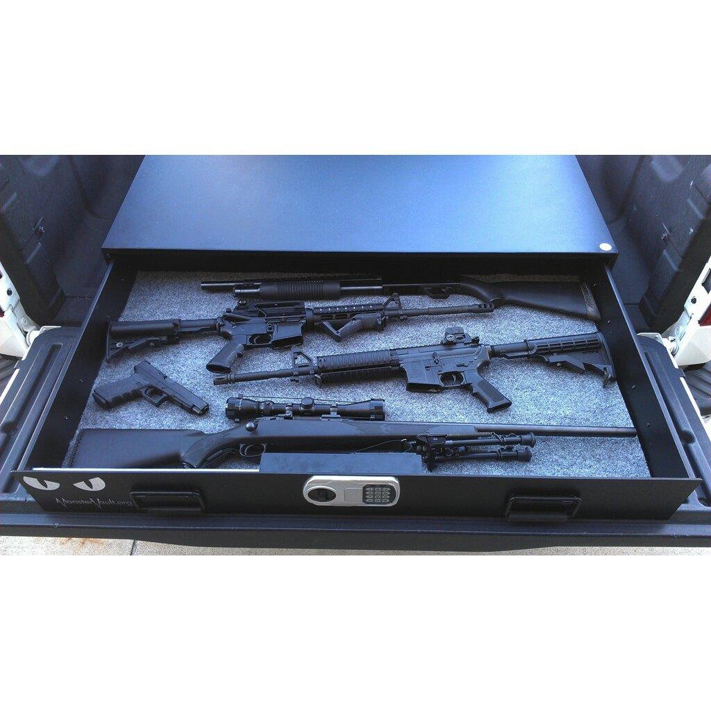 Monster Vault Dual Lock Under Bed Safe & Reviews