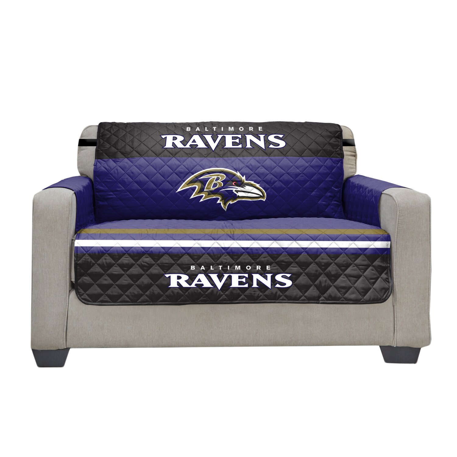 Pegasus Home Fashions Nfl Loveseat Slipcover Wayfair Ca