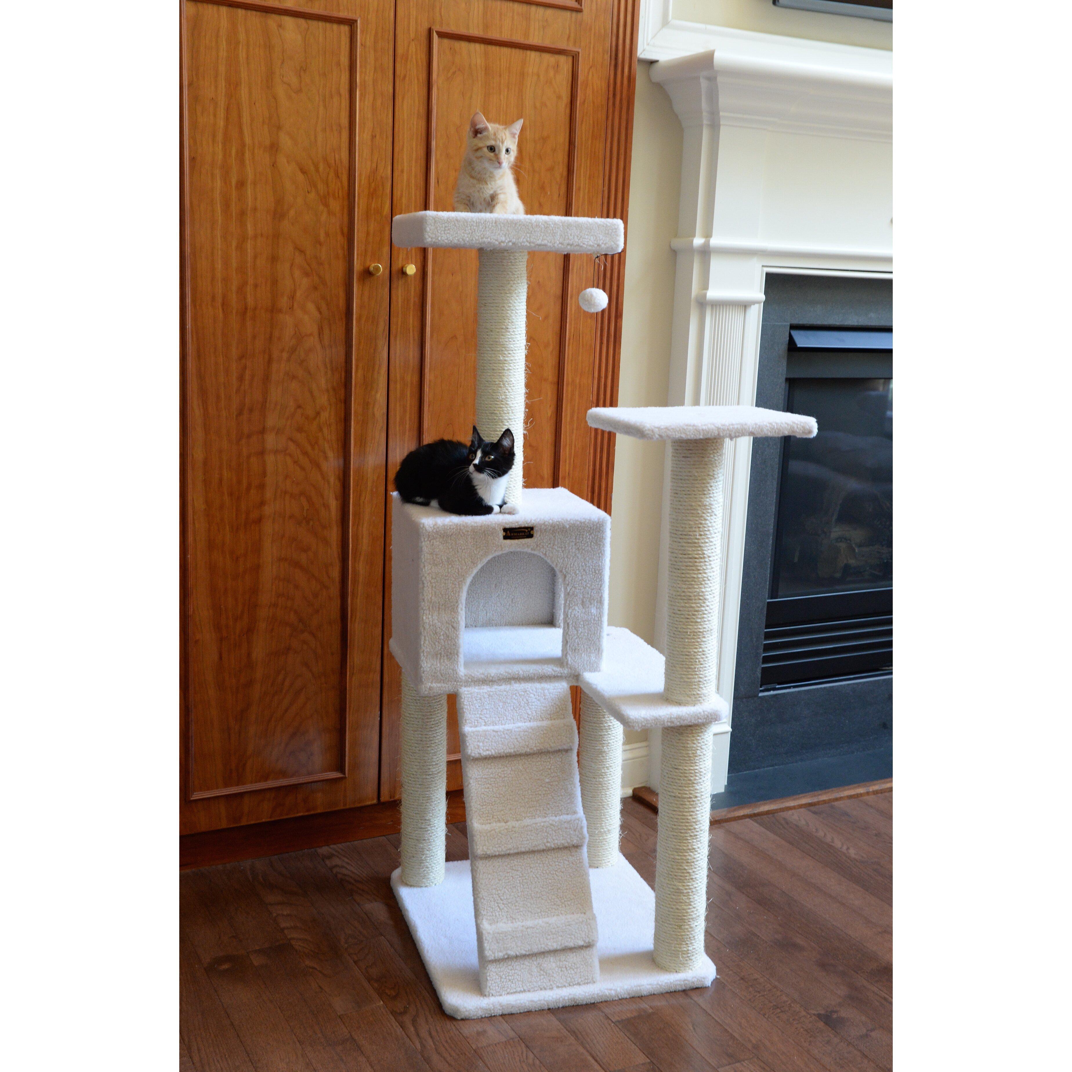 Armarkat 53 Classic Cat Tree Reviews Wayfair