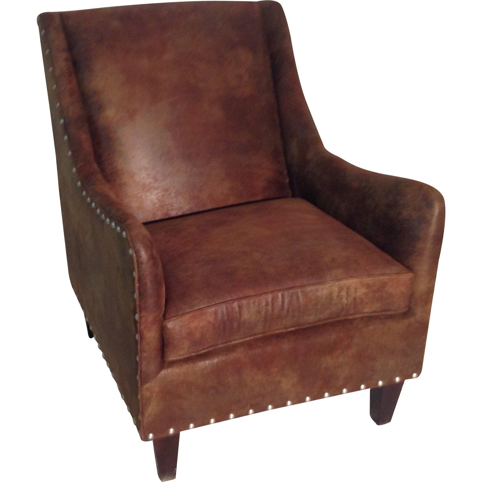 Carolina Classic Furniture Leather Club Chair & Reviews