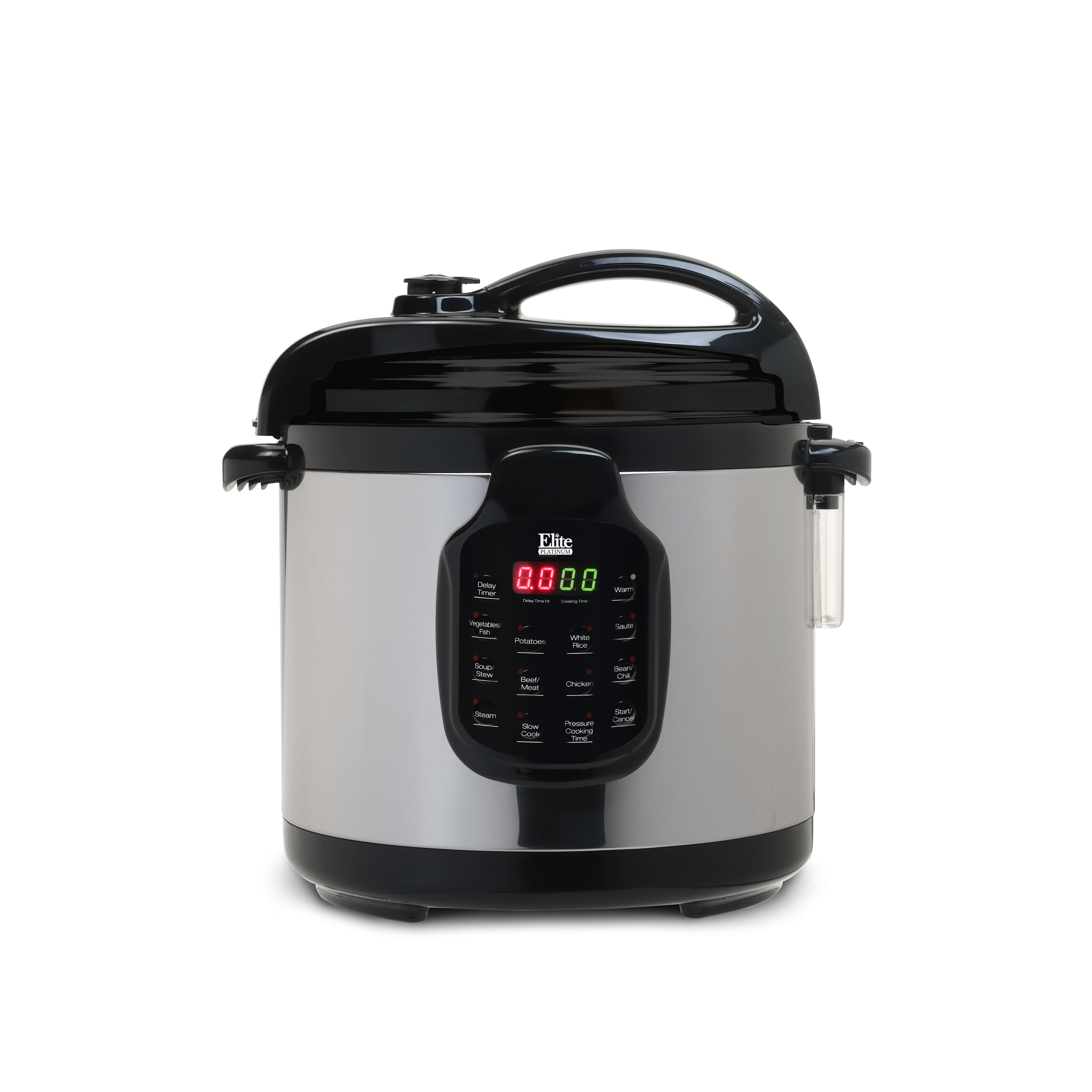 Pressure cooker bed bath beyond - Elite By Maxi Matic Platinum 6 Quart Electric Stainless Steel Pressure Cooker With Stainless
