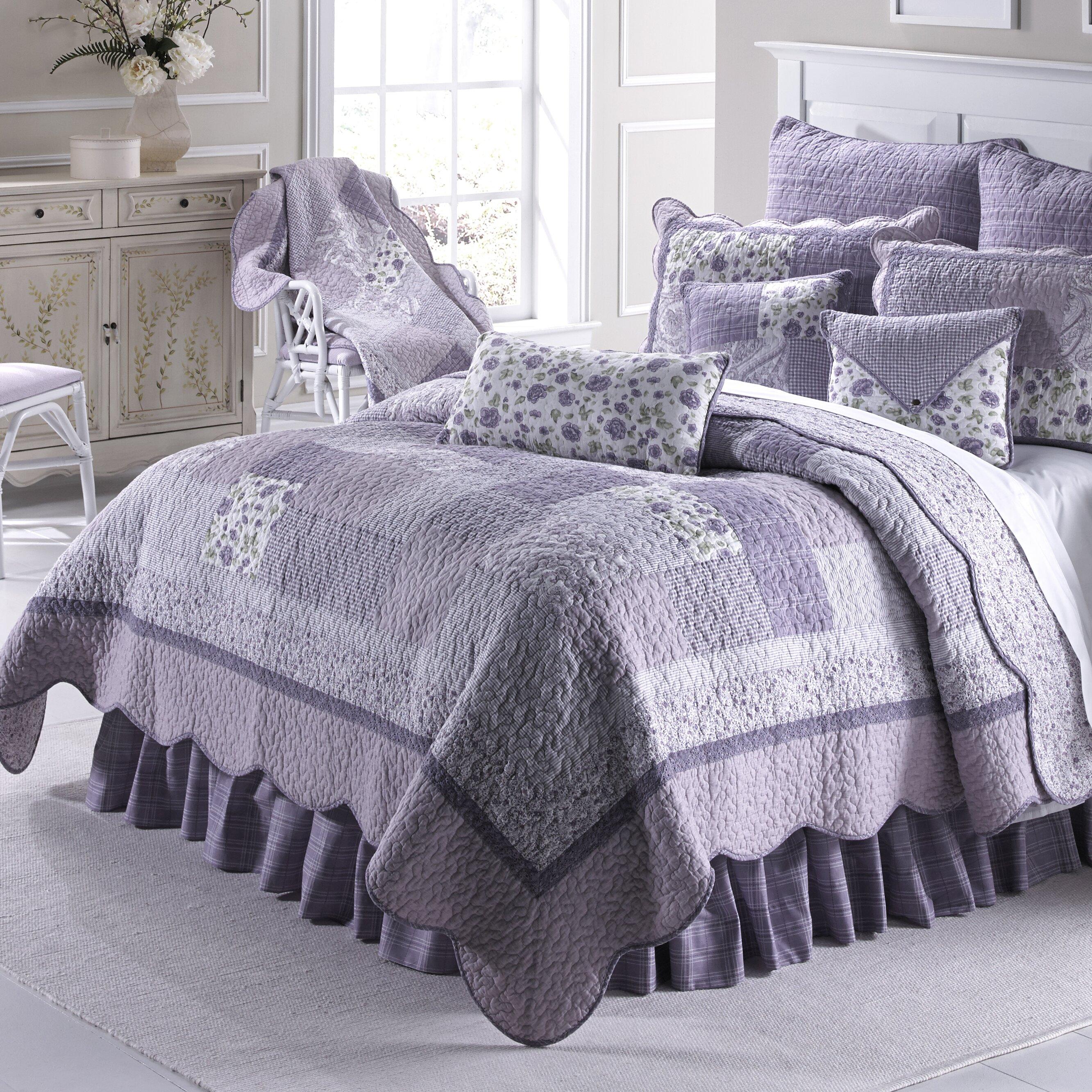 Donna Sharp Lavender Rose Quilt. Donna Sharp Lavender Rose Quilt   Reviews   Wayfair