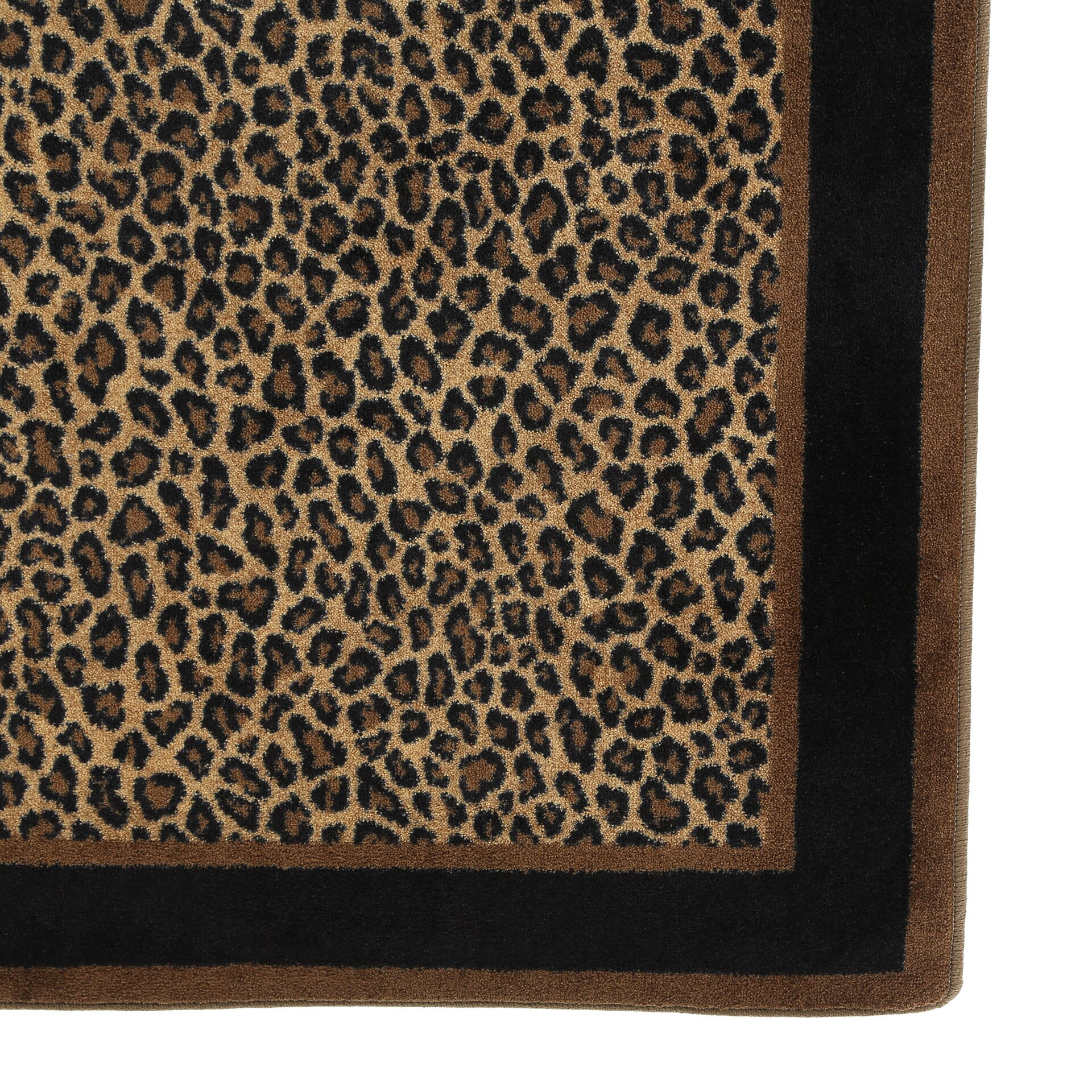 Leopard Print Area Rug Part - 39: Milliken Innovation Leopard Print Zimbala Area Rug