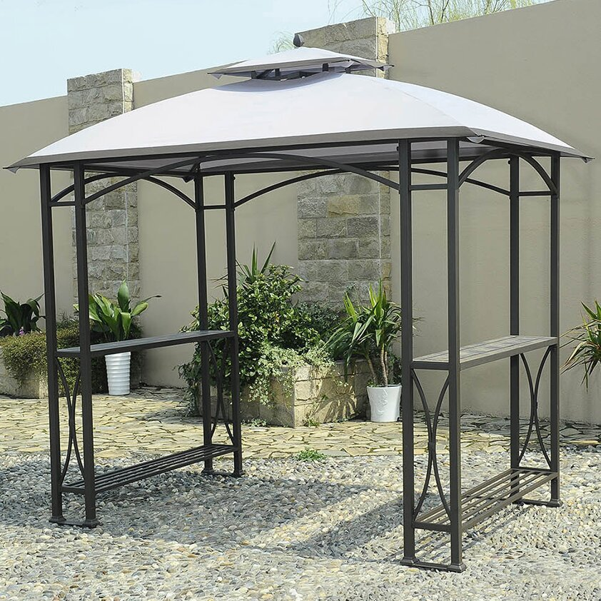 Sunjoy Replacement Canopy for Grill Gazebo - Sunjoy Replacement Canopy For Grill Gazebo Wayfair