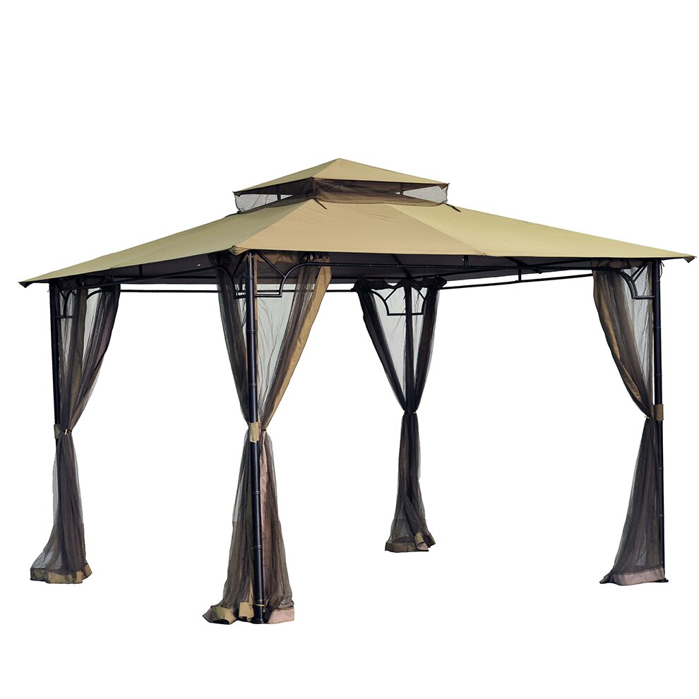 Sunjoy Replacement Canopy For 10 W X 10 D Bamboo Gazebo