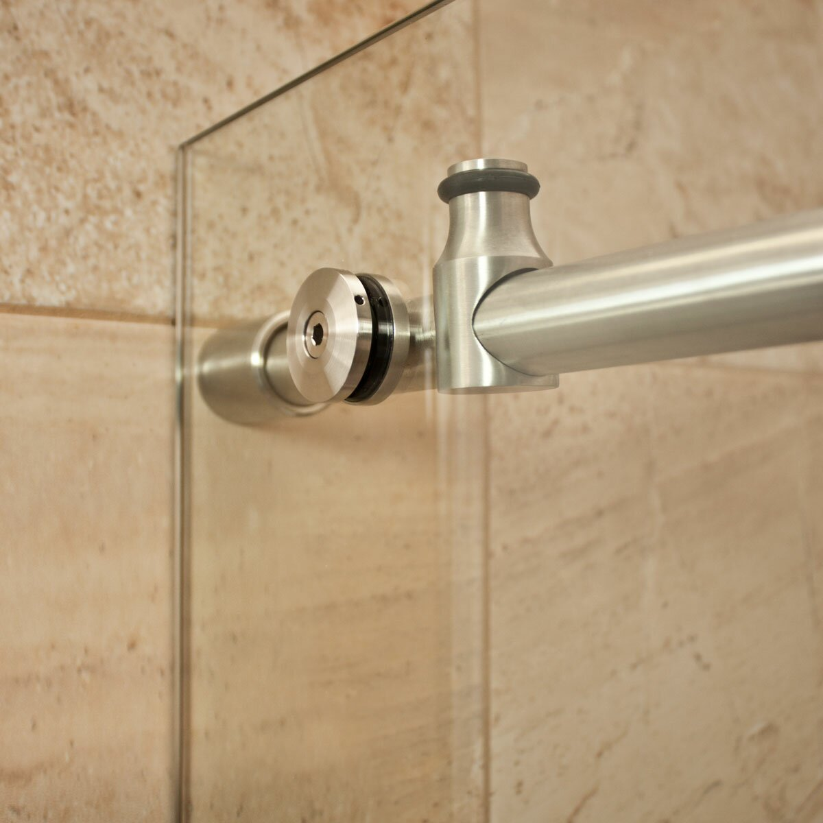 LessCare UltraD  X  X  Sliding High Glass Shower - 36 x 36 corner shower stall