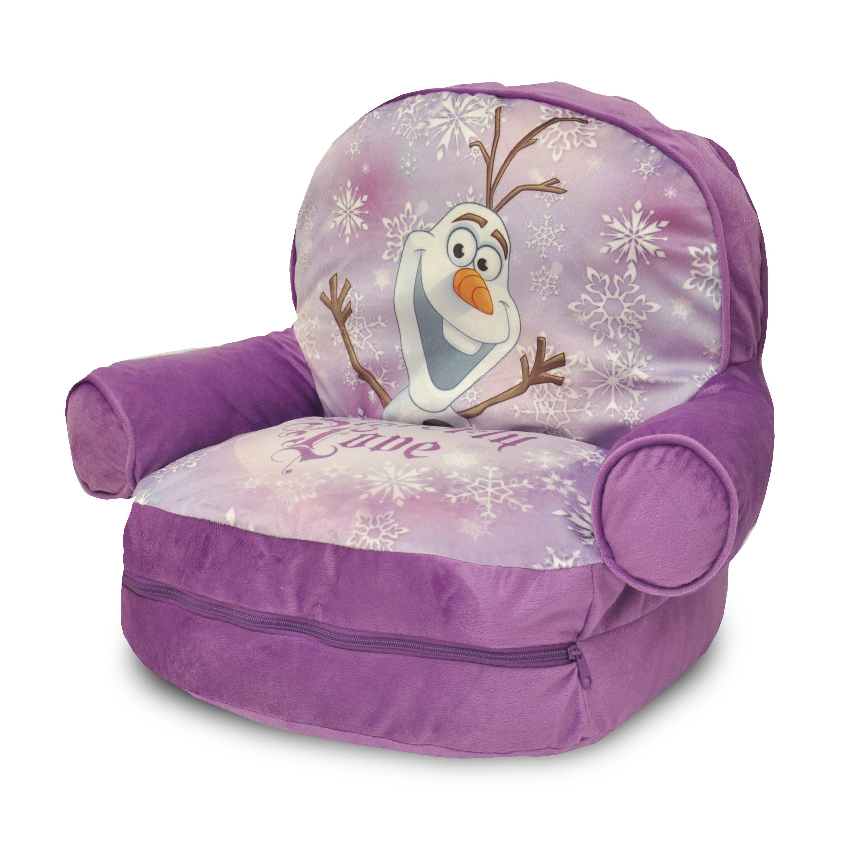 Idea Nuova Frozen Kids Novelty Chair With Storage