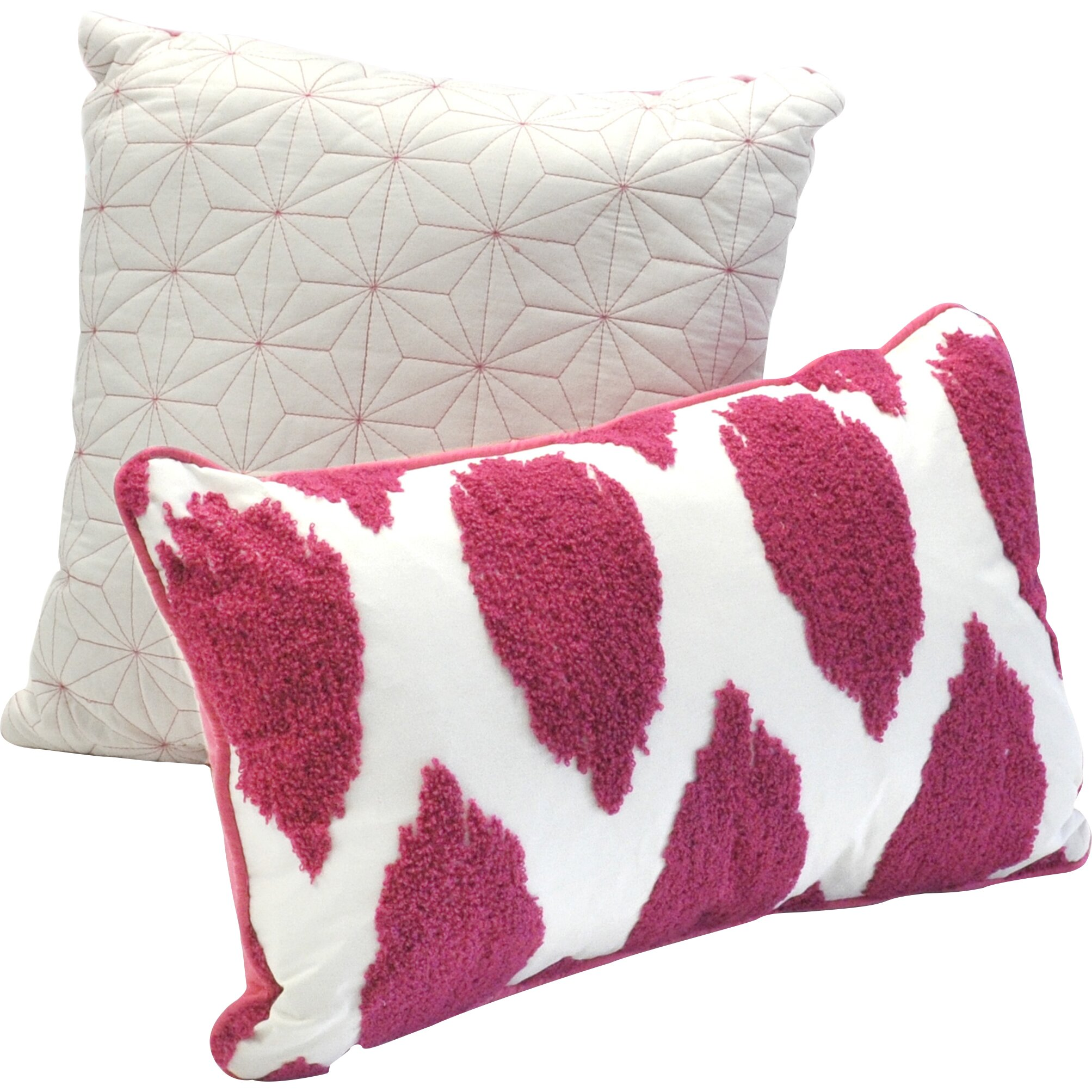 Decorative Pillow Set Seventeen Deliah Comforter Collection Reviews Wayfair