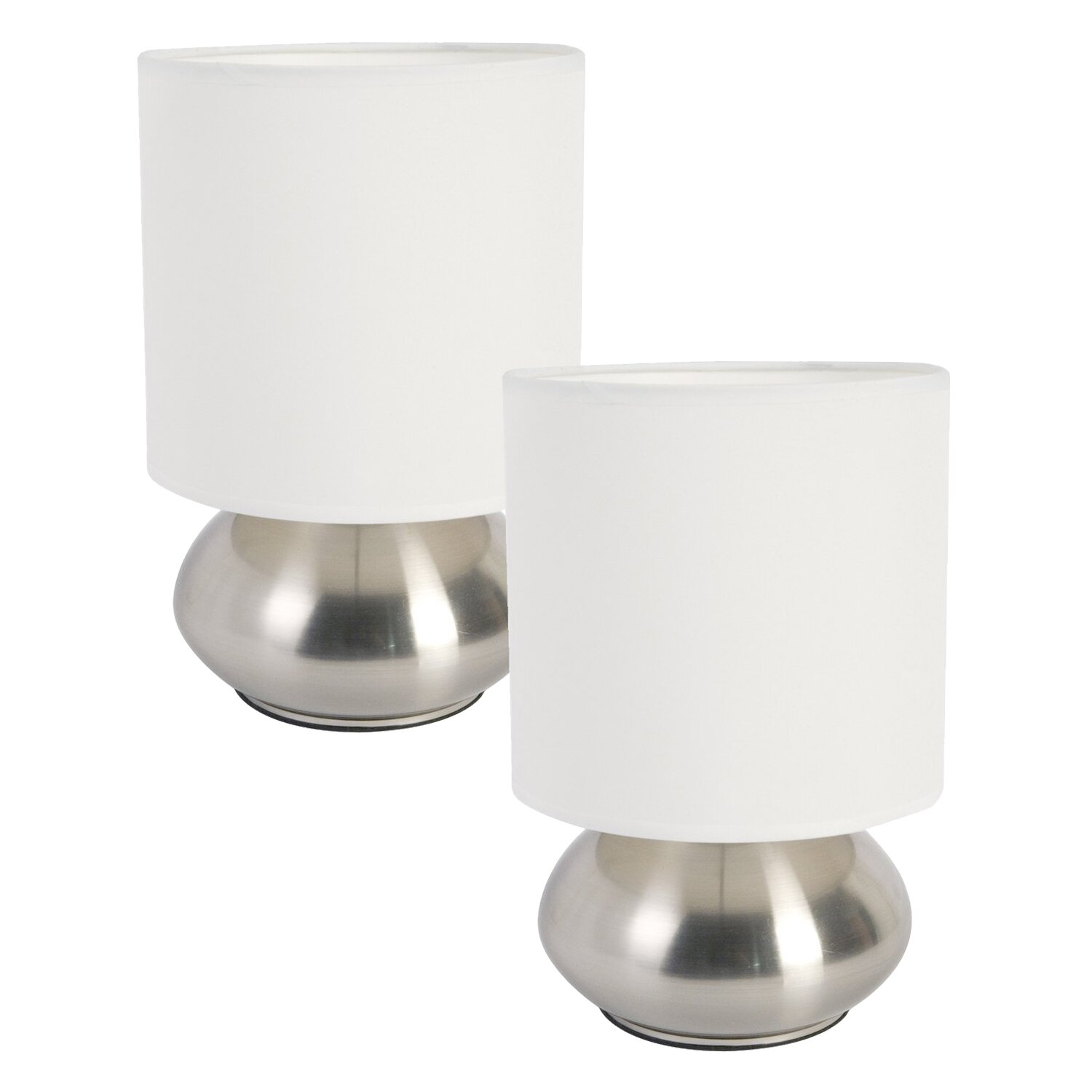 """Small Touch Table Lamps: Zipcode™ Design Ariana Mini Touch 9.2"""" Table Lamp with ...,Lighting"""