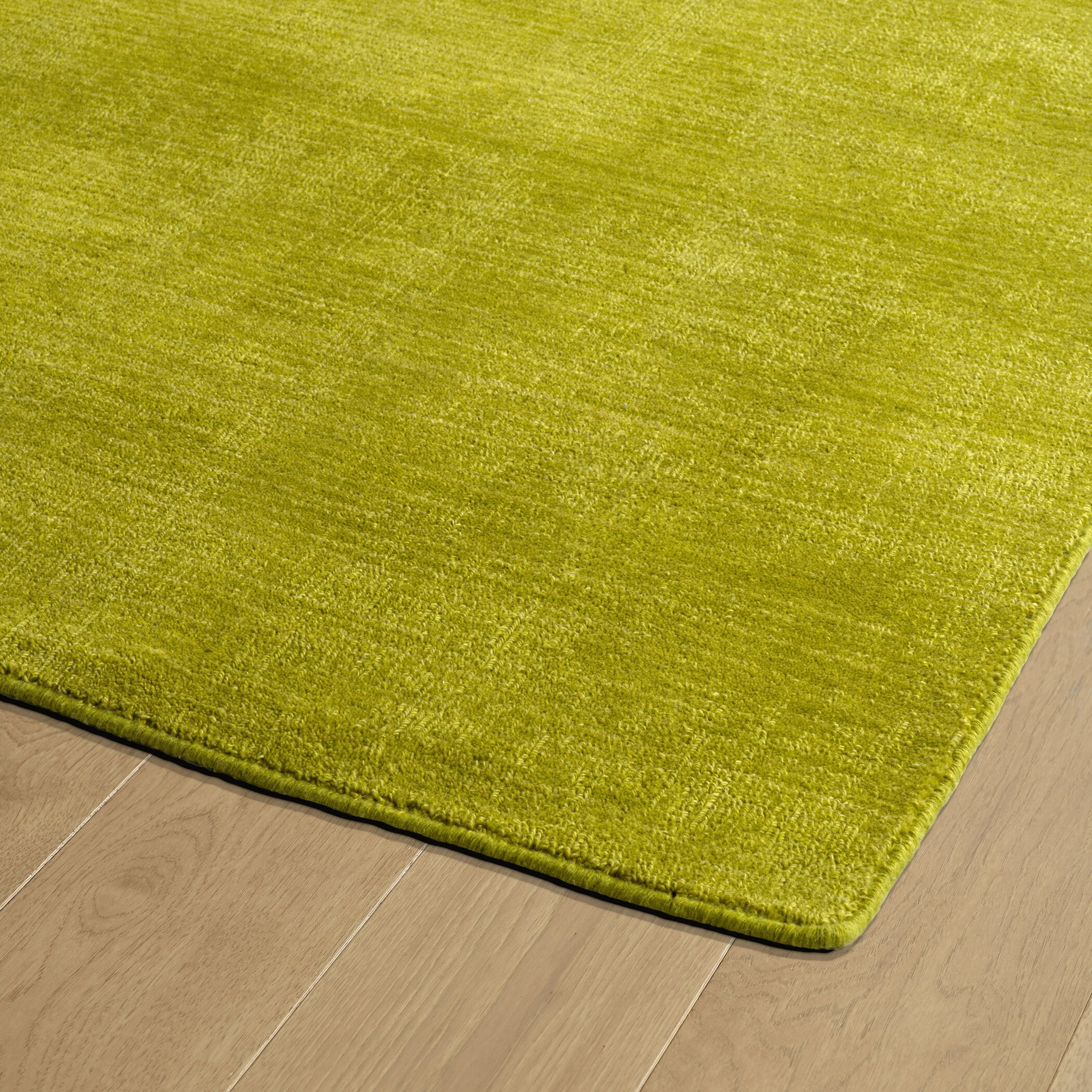 Zipcode design taliyah hand loomed lime green indoor for Indoor outdoor carpet green