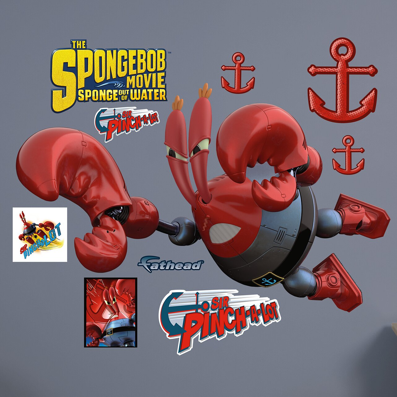 Fathead Nickelodeon Spongebob Mr Krabs Sir Pinch A Lot