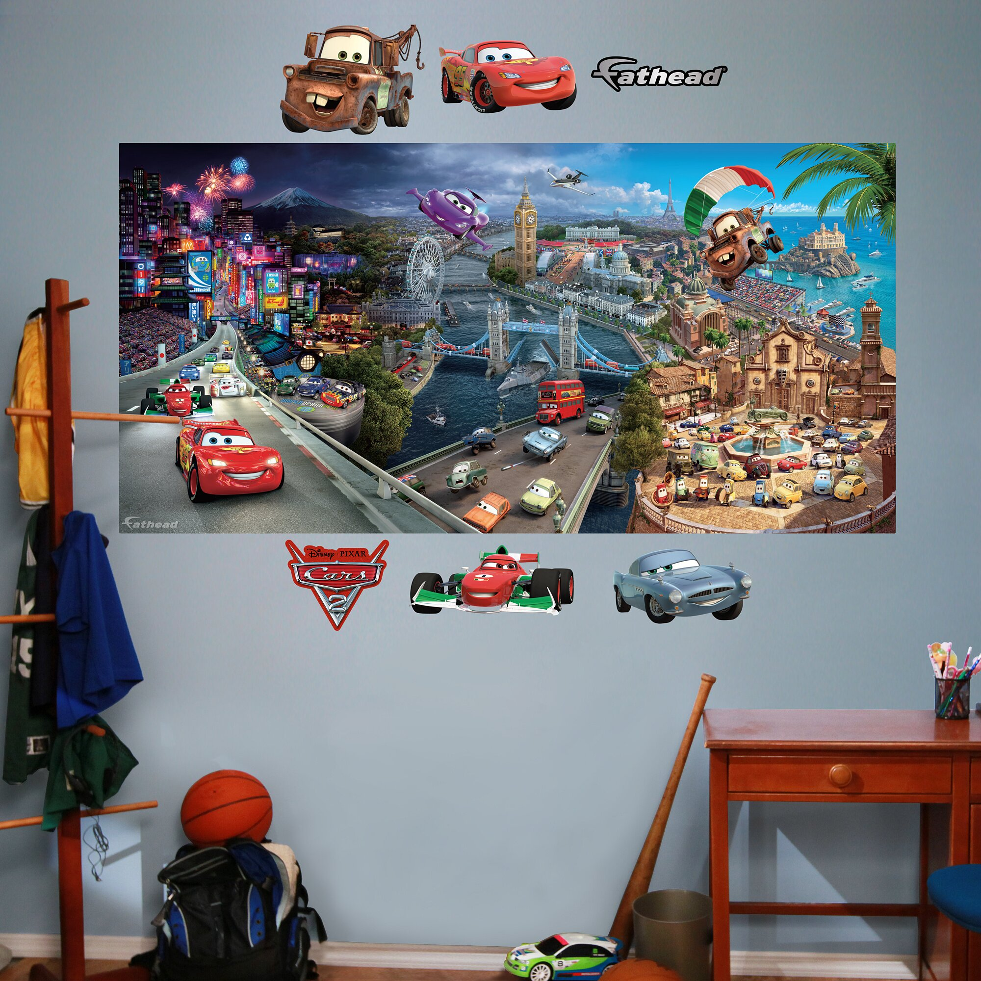 Fathead Disney Cars 2 Wall Decal