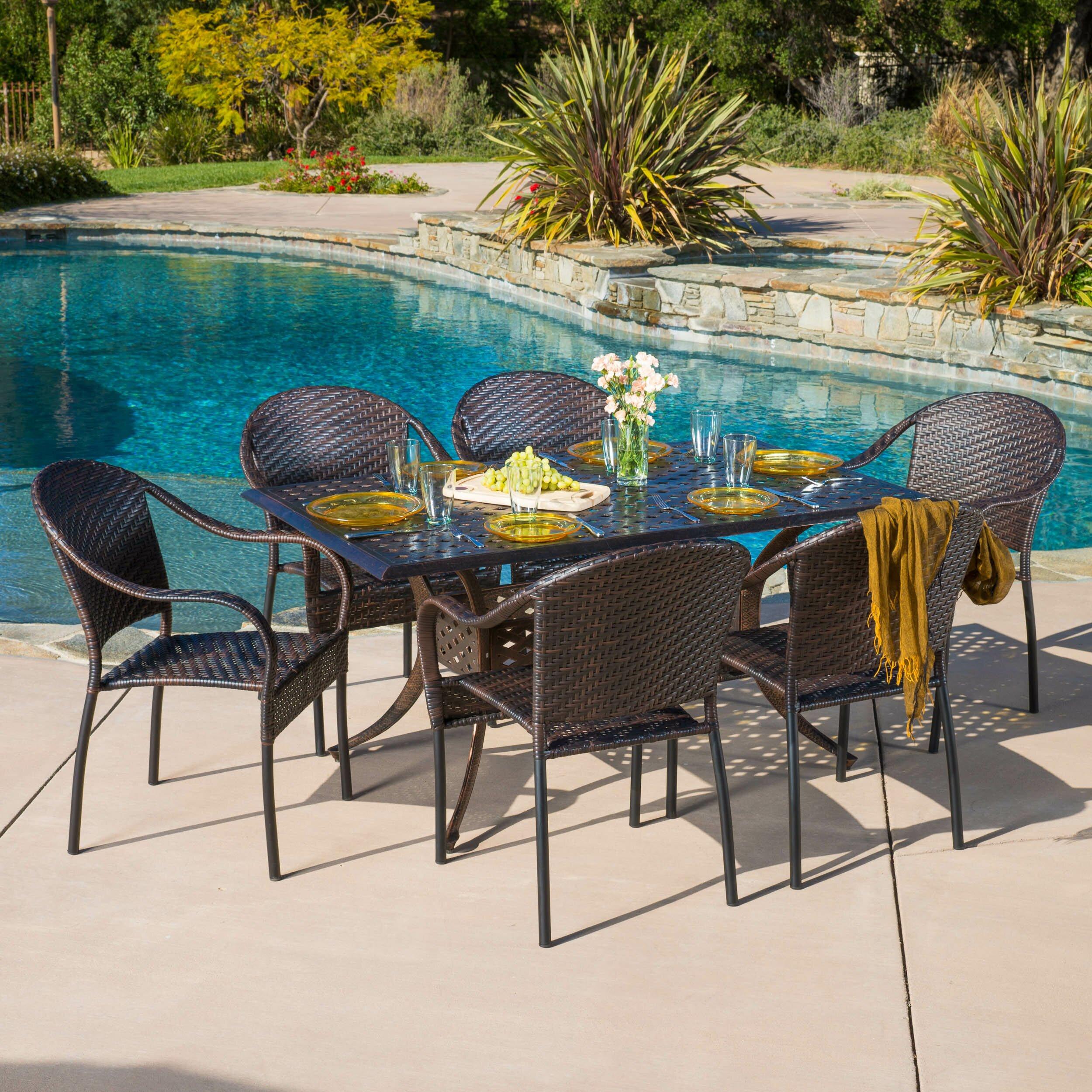 Home Loft Concepts Blair 7 Piece Dining Set Reviews