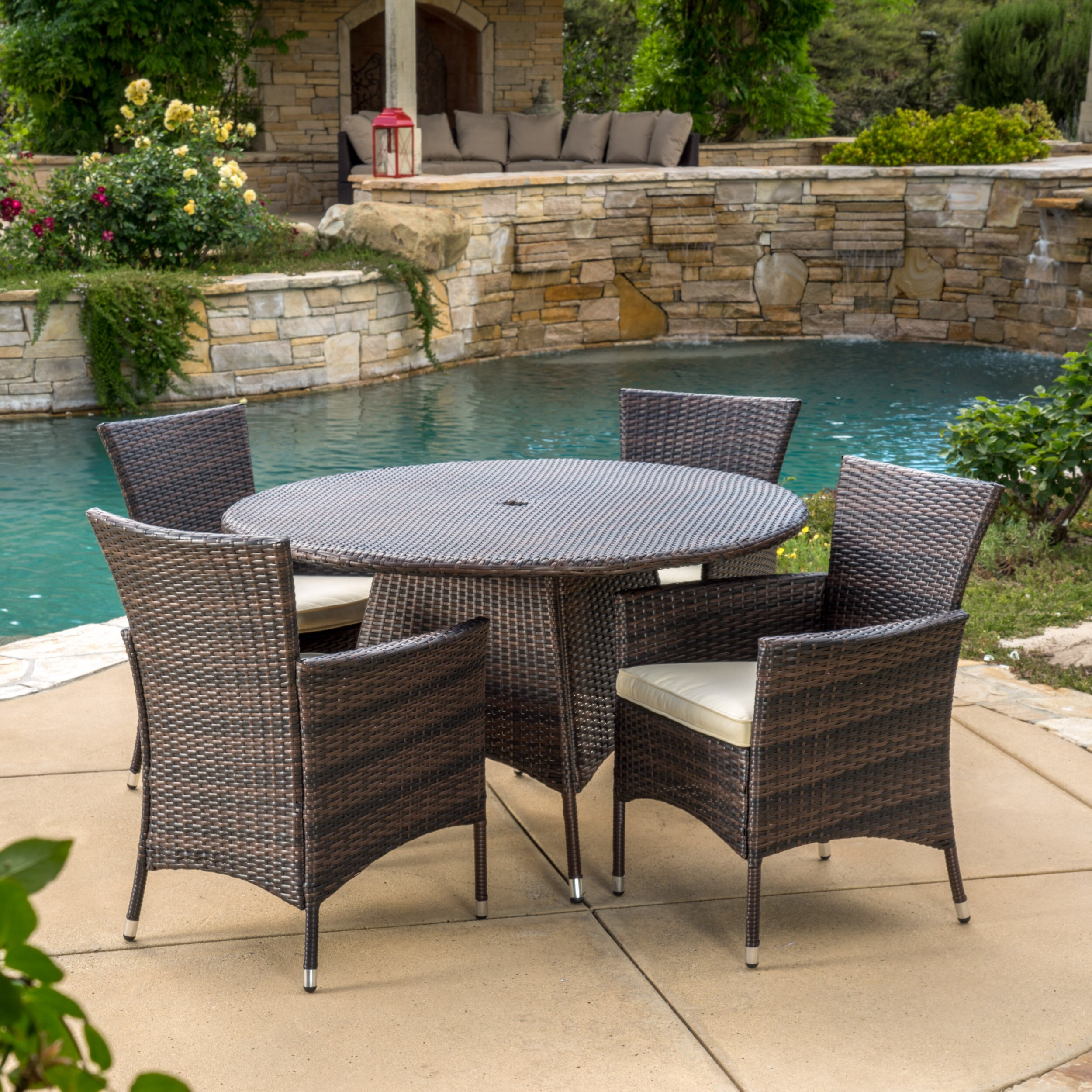 Home Loft Concepts Rodgers 5 Piece Dining Set With