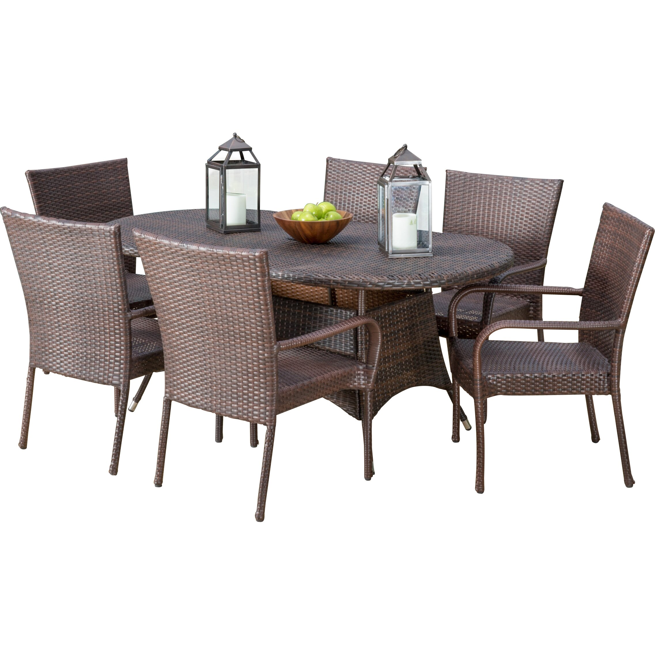 Very Impressive portraiture of Outdoor Patio Furniture Six Person Patio Dining Sets Home Loft  with #858645 color and 2273x2273 pixels