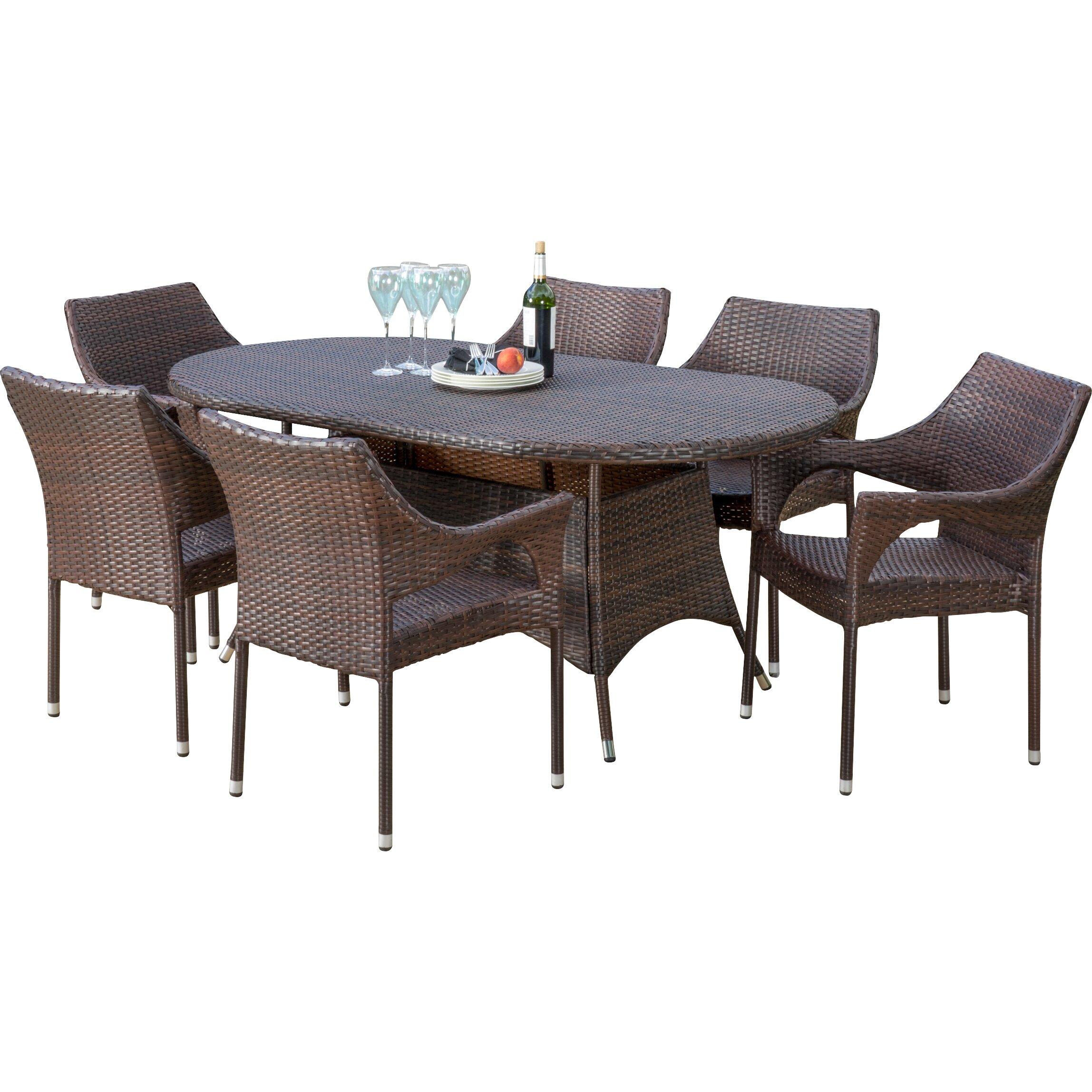Home Loft Concepts Lennox 7 Piece Dining Set. Home Loft Concepts Lennox 7 Piece Dining Set   Reviews   Wayfair