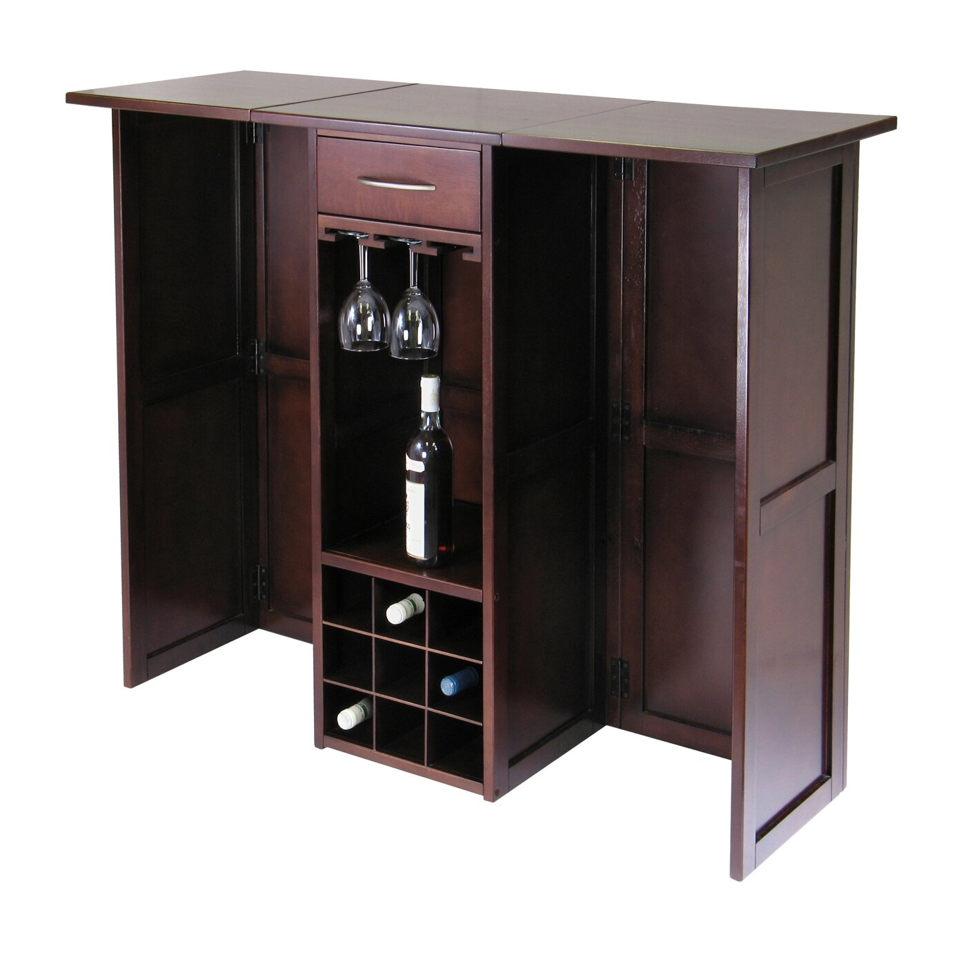 Industrial Bar Cabinet Bar Cabinets Youll Love Wayfair