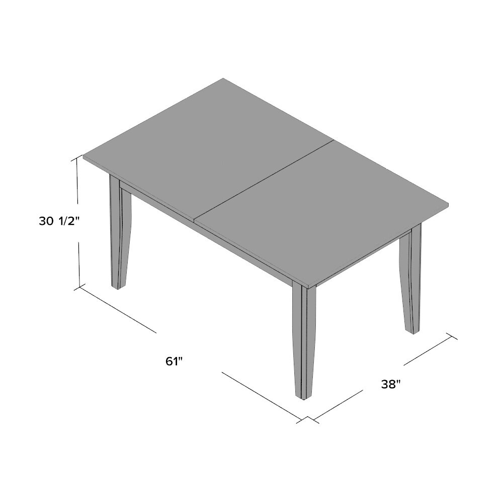 Andover Mills Rollins Extendable Dining Table Reviews