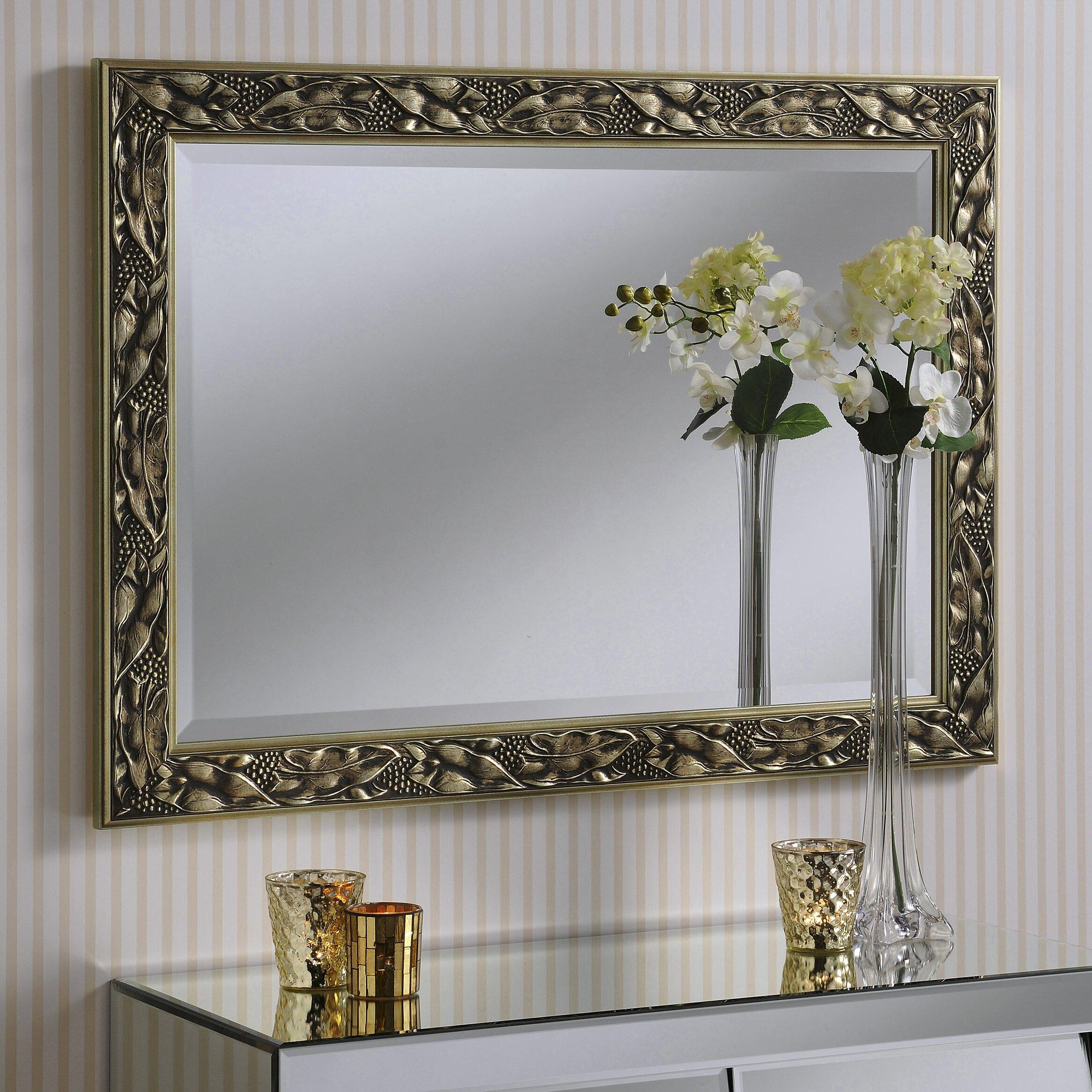 Yearn Mirrors Rectangular Mirror Amp Reviews Wayfair Co Uk