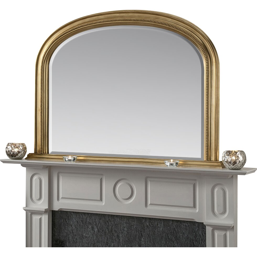 yearn mirrors overmantle accent mirror reviews wayfair. Black Bedroom Furniture Sets. Home Design Ideas