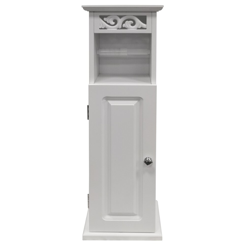 Dcor Design Scroll 20 X 64cm Free Standing Bathroom