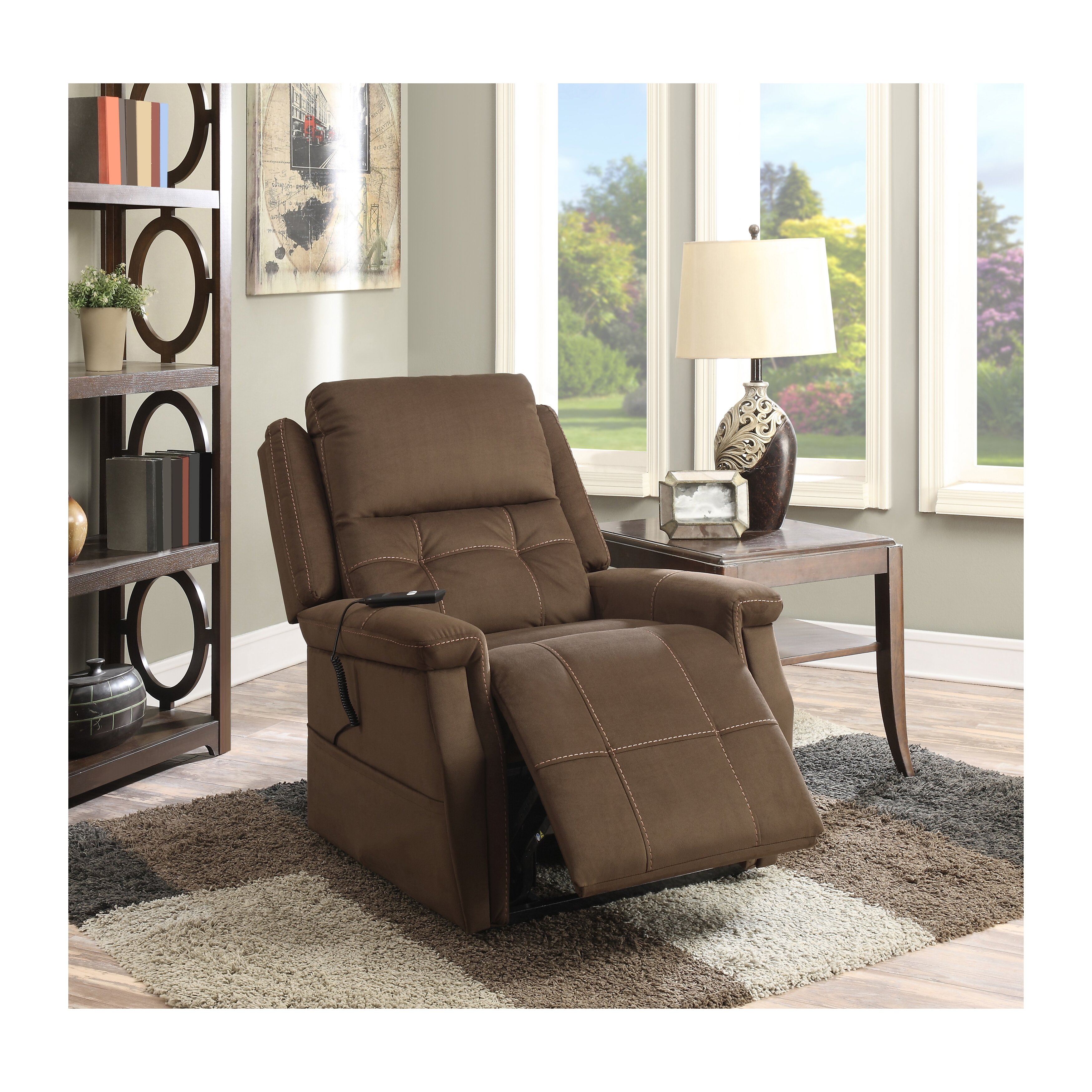 Pulaski Living Room Furniture Pulaski Double Motor Infinite Positions Lift Chair Reviews Wayfair