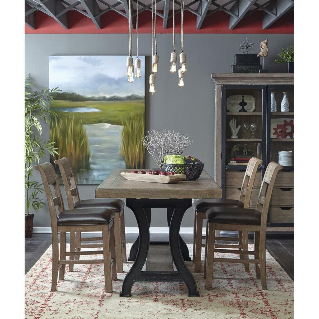 pulaski furniture dining room set | Pulaski Flatbush 5 Piece Dining Set | Wayfair.ca
