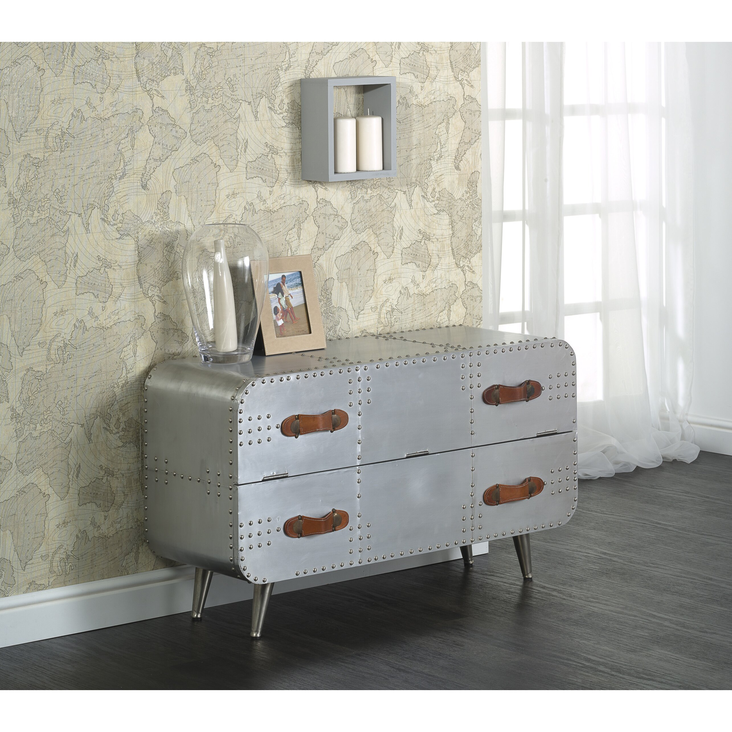 Castleton Home Voyager 1 Drawer Chest Of Drawers