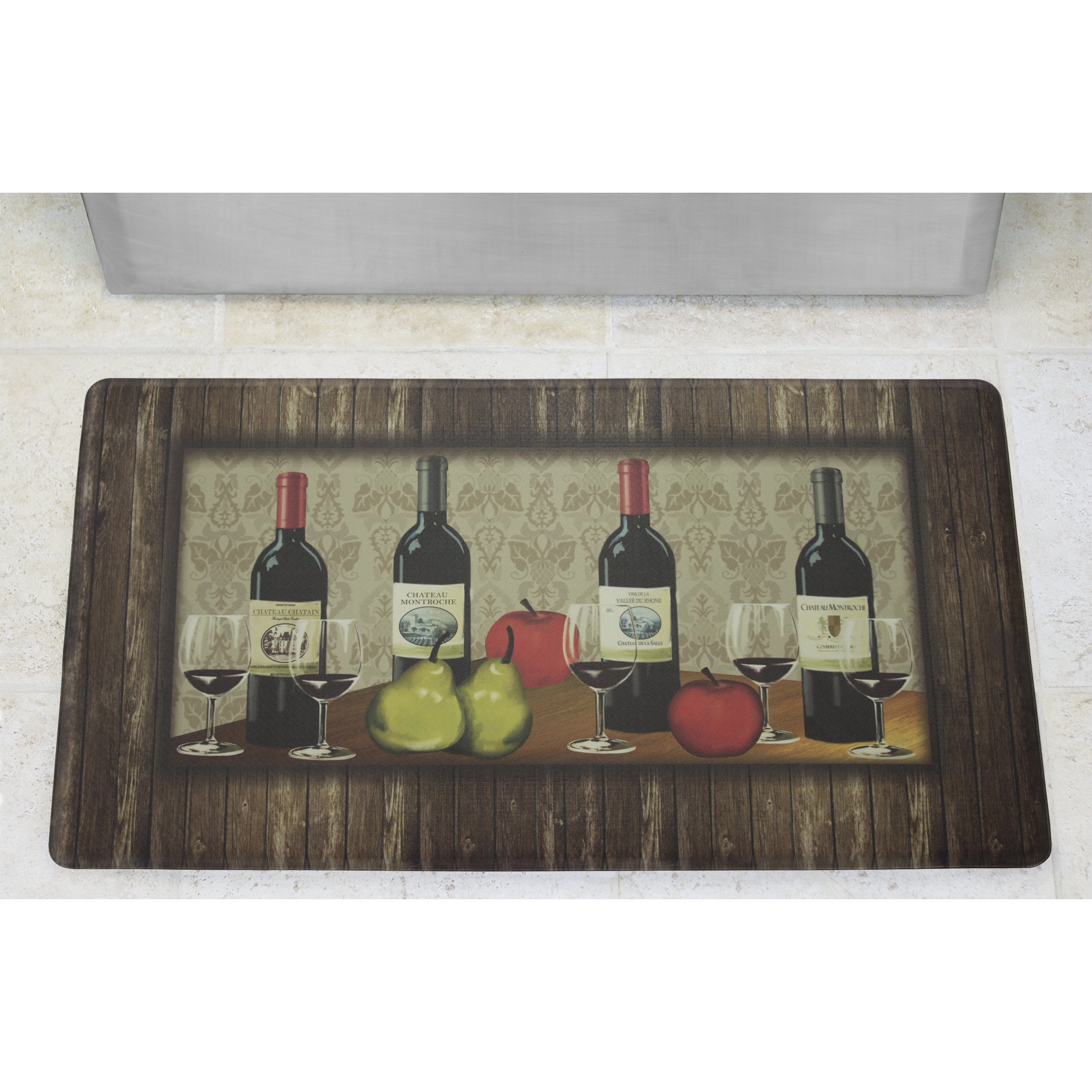Kitchen Anti Fatigue Floor Mat Chef Gear Sophisticated Wine Anti Fatigue Cushioned Chef Kitchen