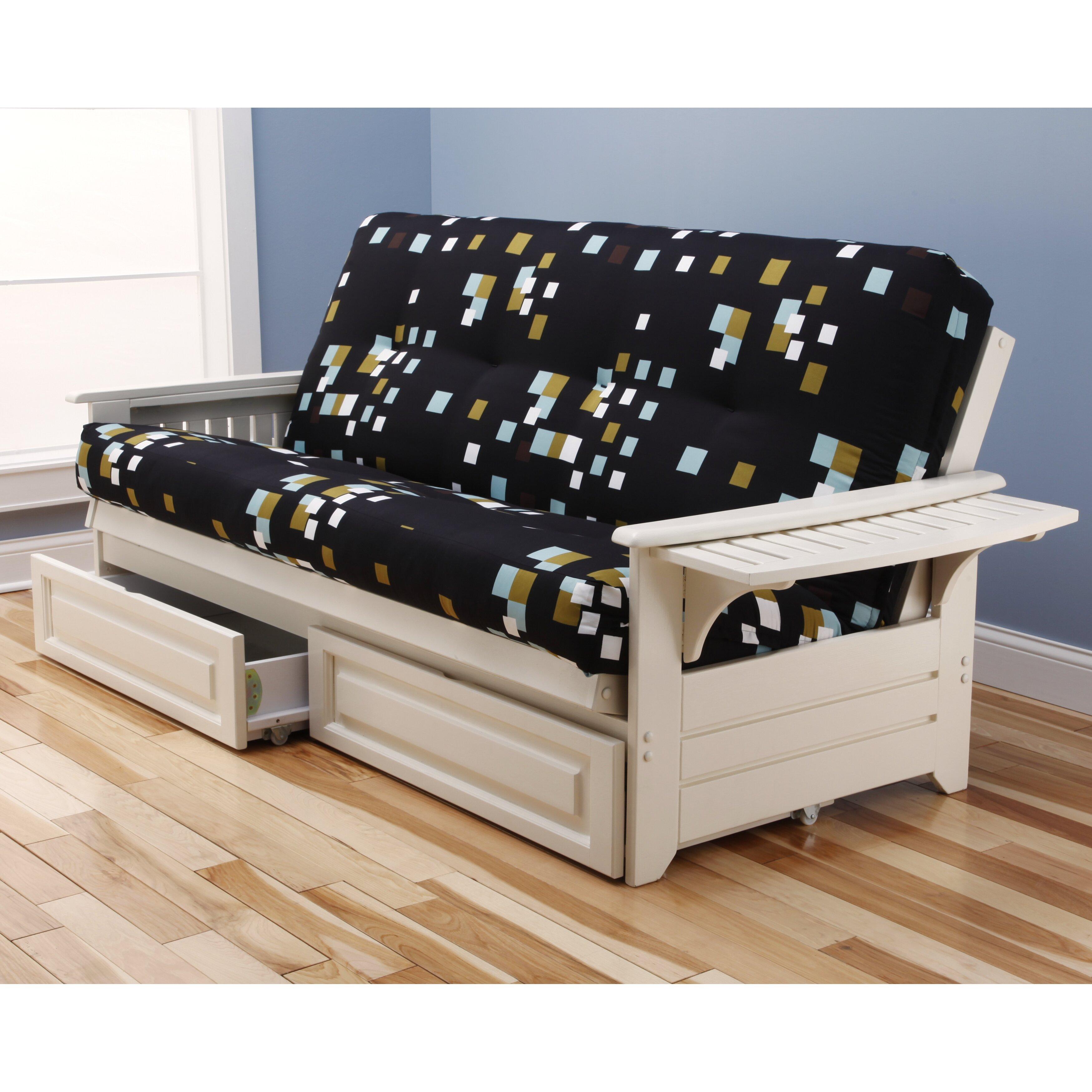Kodiak Furniture Phoenix Modern Blocks Storage Drawers