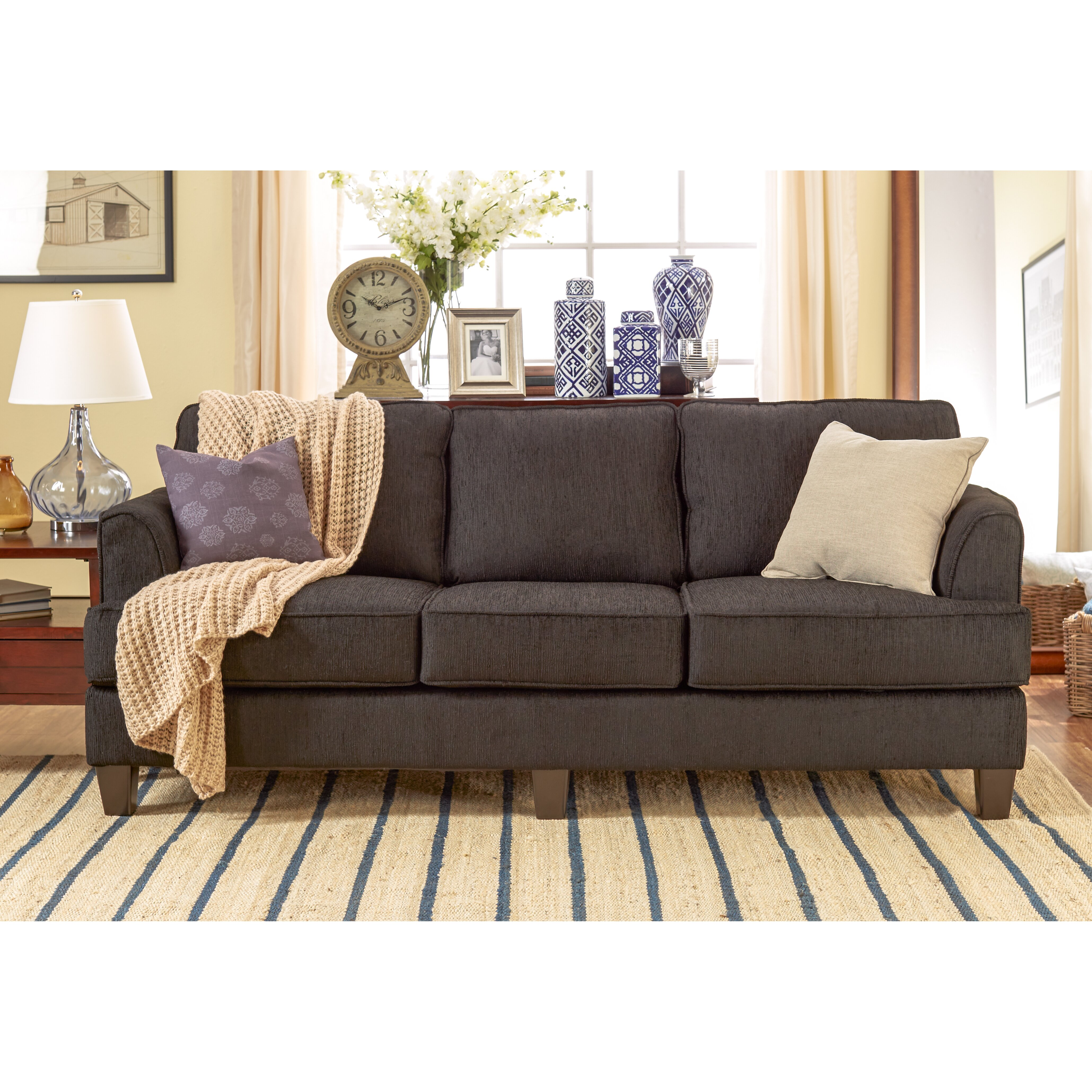 Three posts davey living room collection by serta upholstery