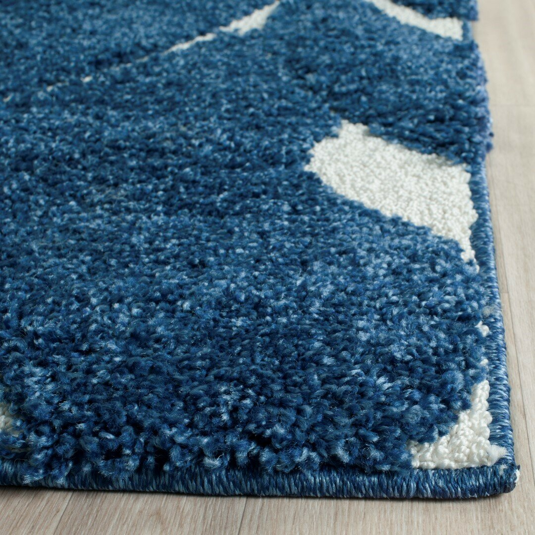 28 navy blue and cream area rugs one of a kind kashan navy
