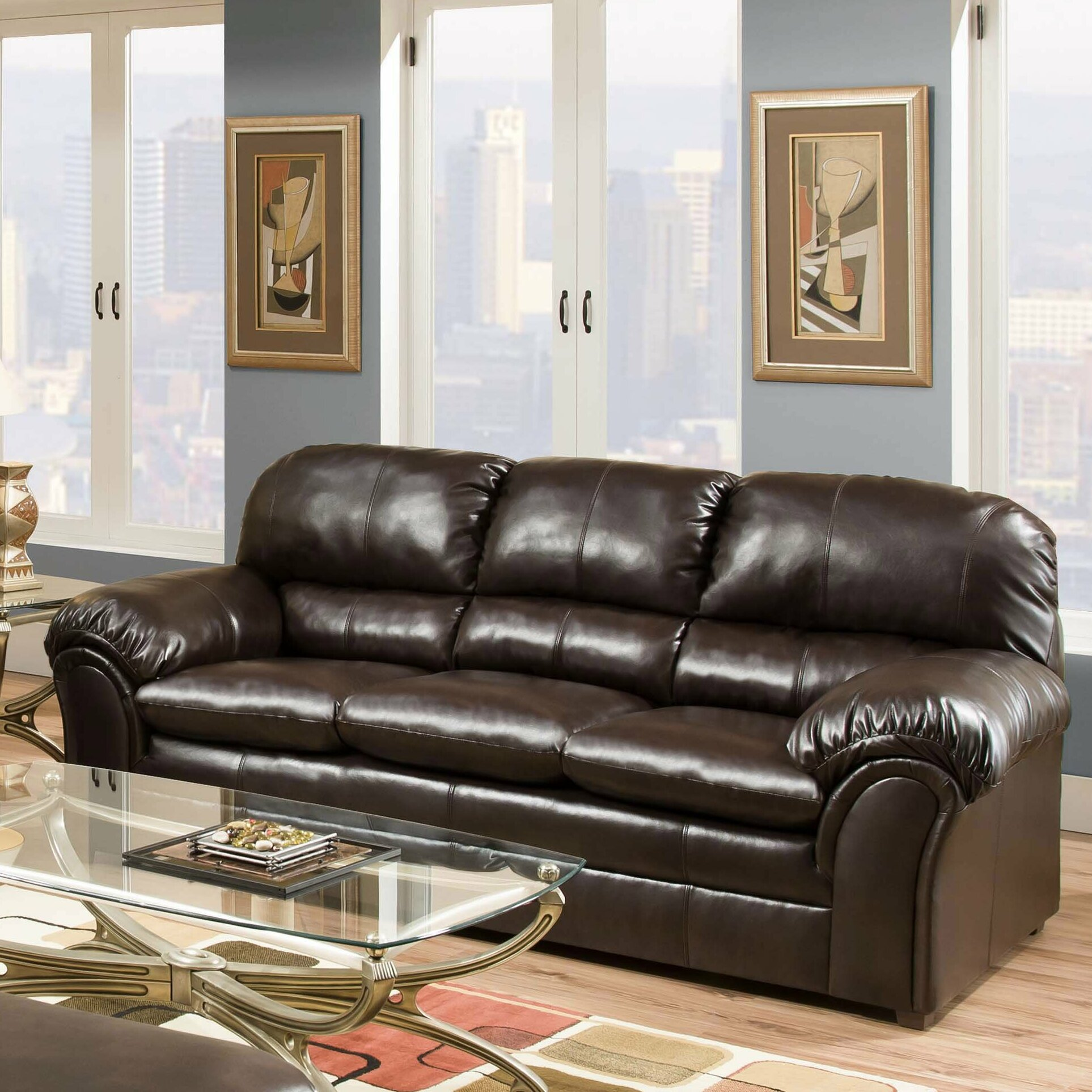 Living Room Furniture Leather And Upholstery
