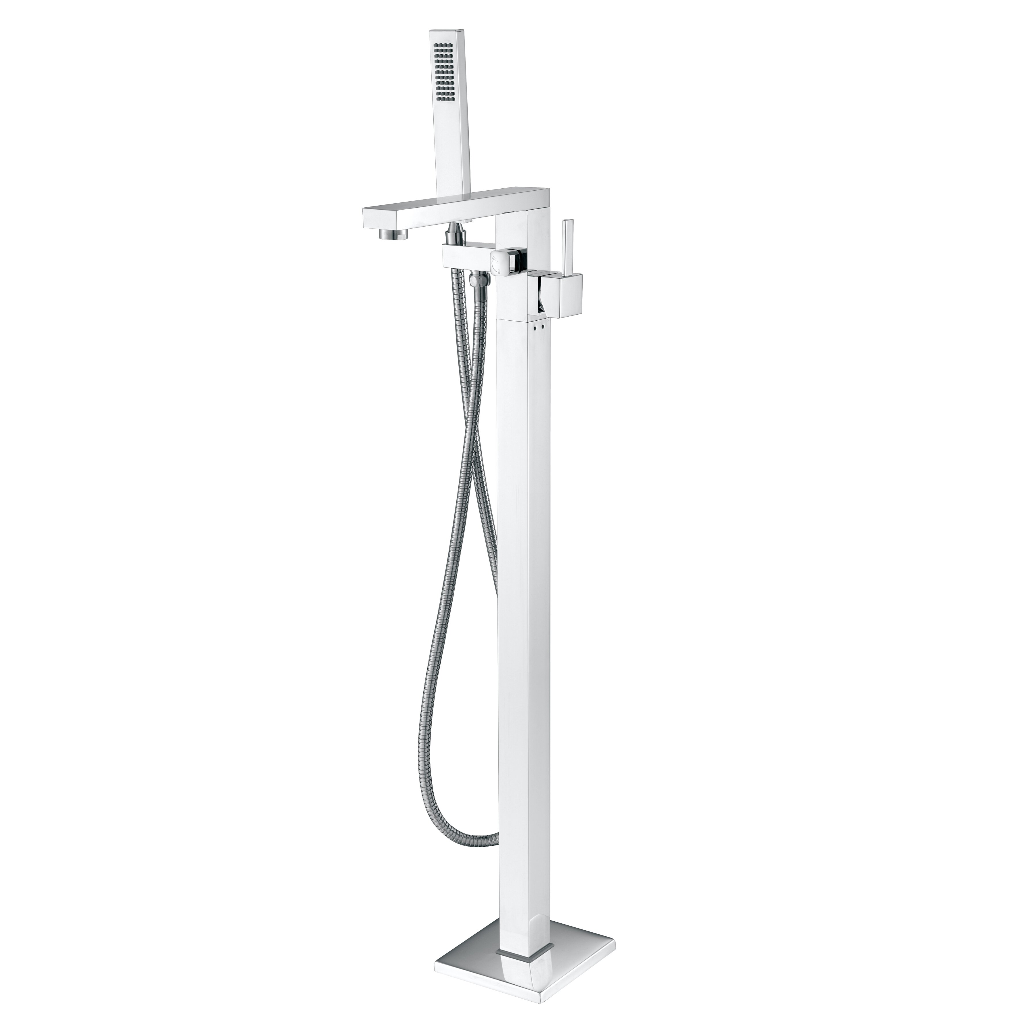 AKDY Diverter Tub And Shower Faucet With Single Handle  Reviews - Hand held shower faucet attachment